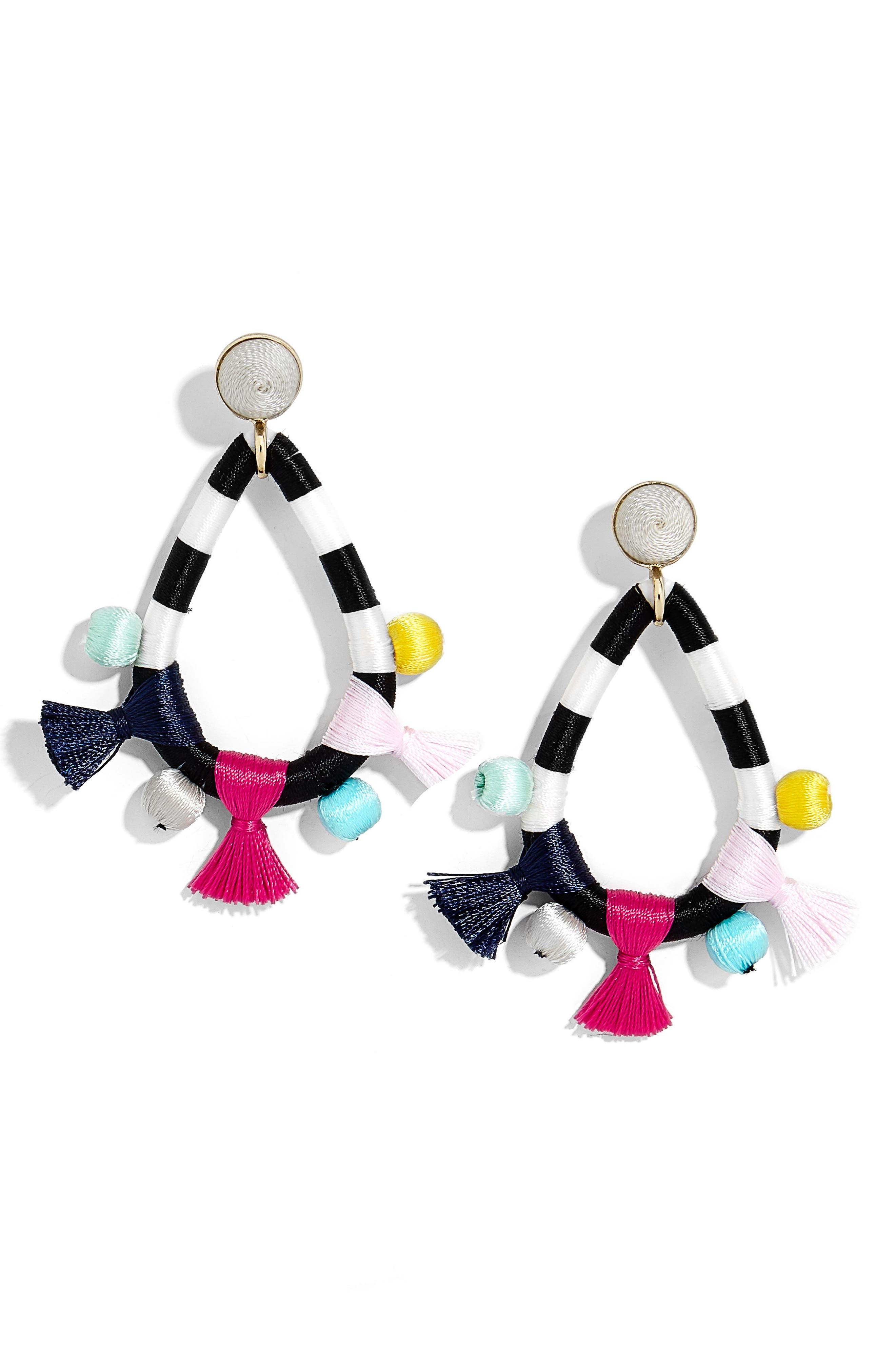 Sardinia Drop Earrings,                         Main,                         color, Multi
