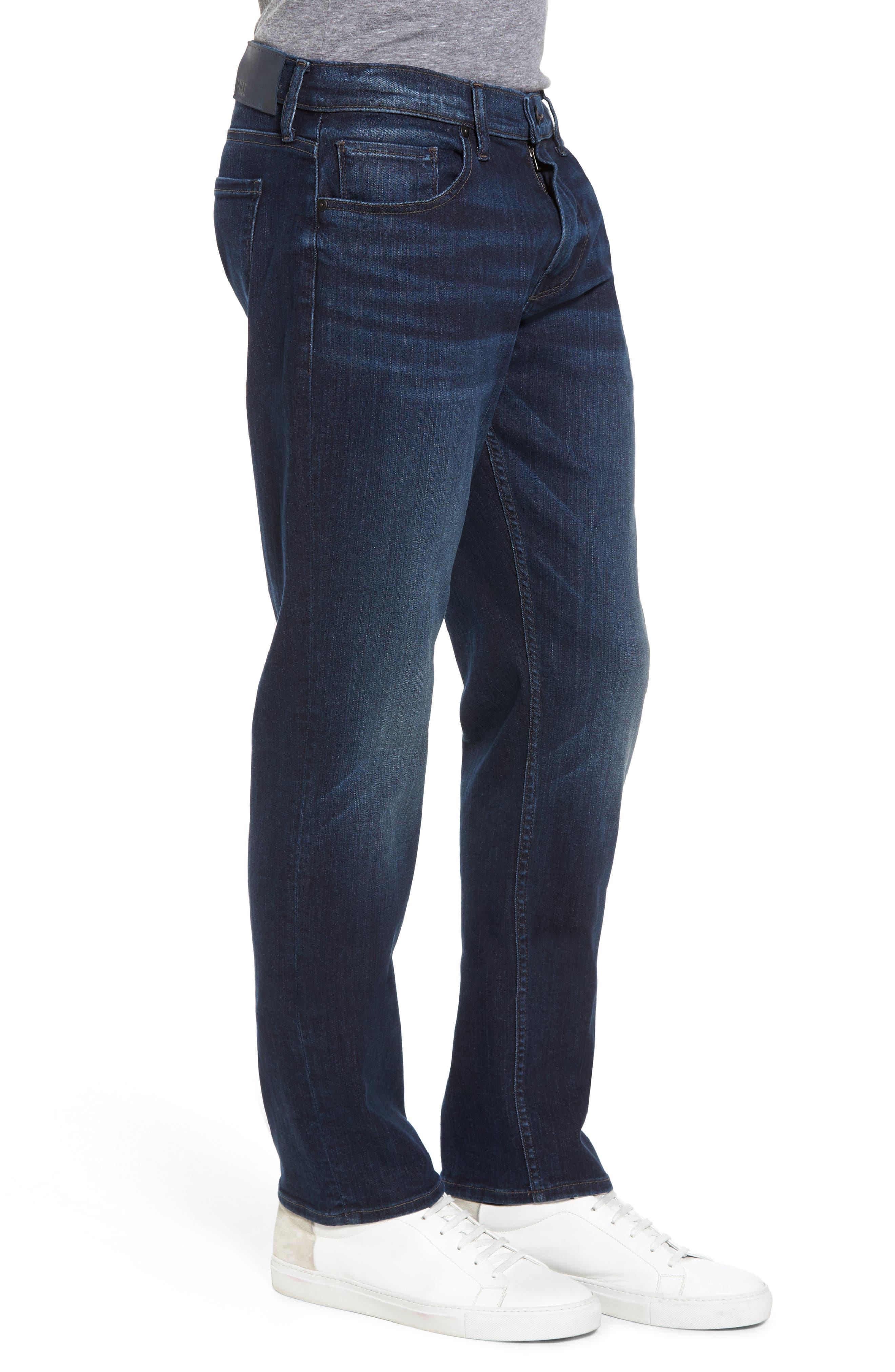 Transcend - Federal Slim Straight Leg Jeans,                             Alternate thumbnail 3, color,                             Graham