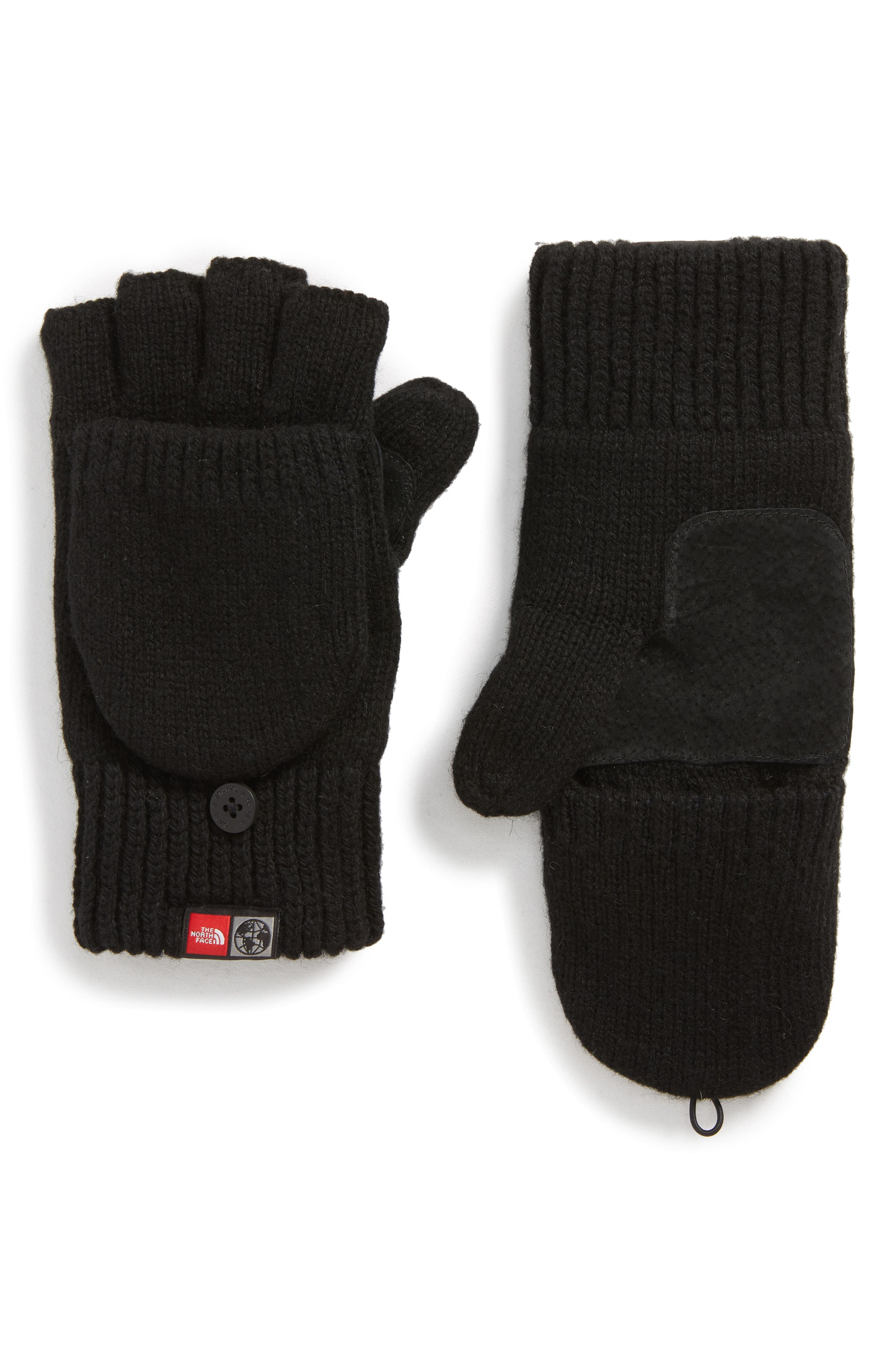 The North Face International Collection Backflip Convertible Mittens