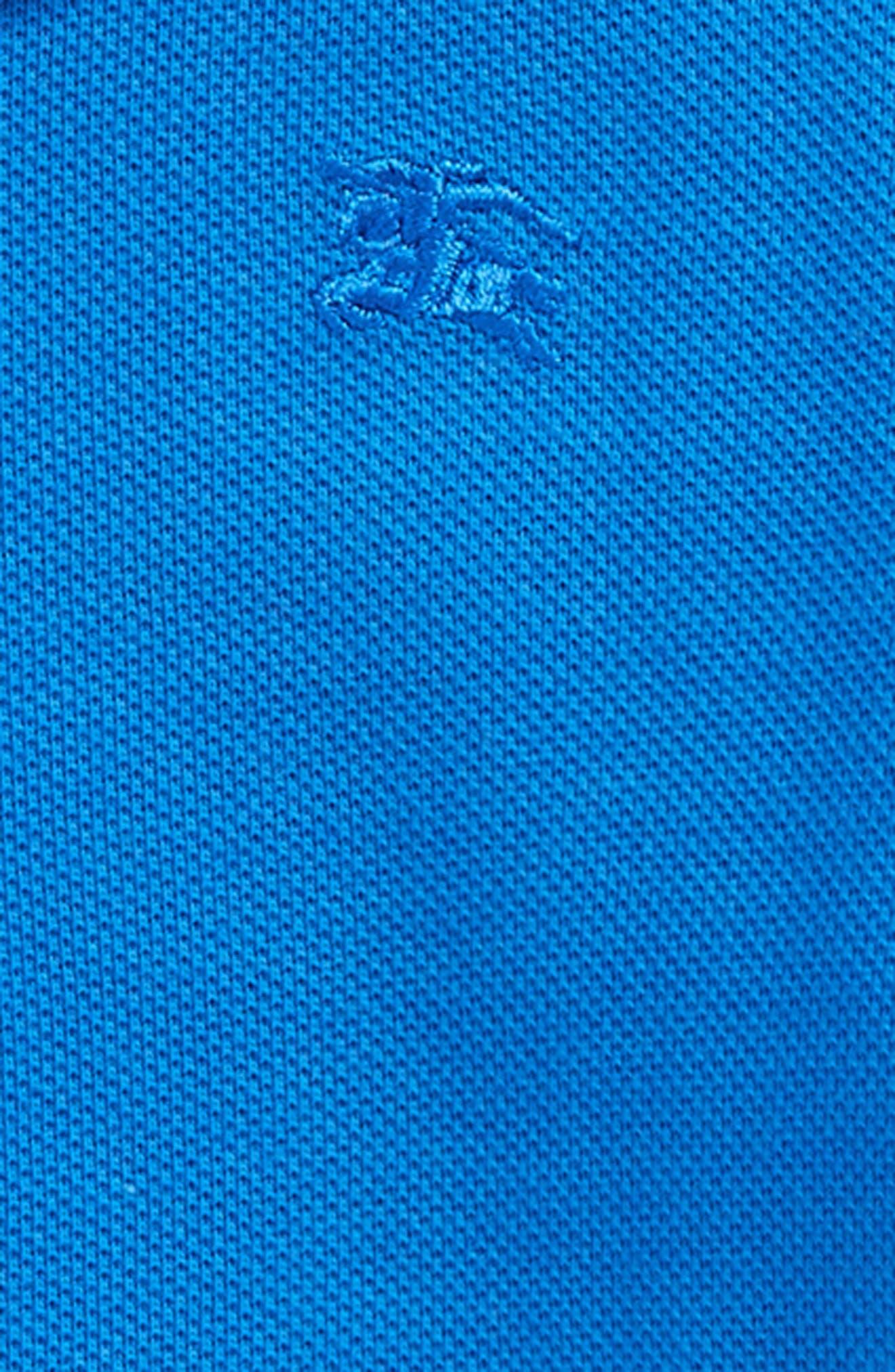 Palmer Piqué Polo,                             Alternate thumbnail 2, color,                             Cobalt Blue