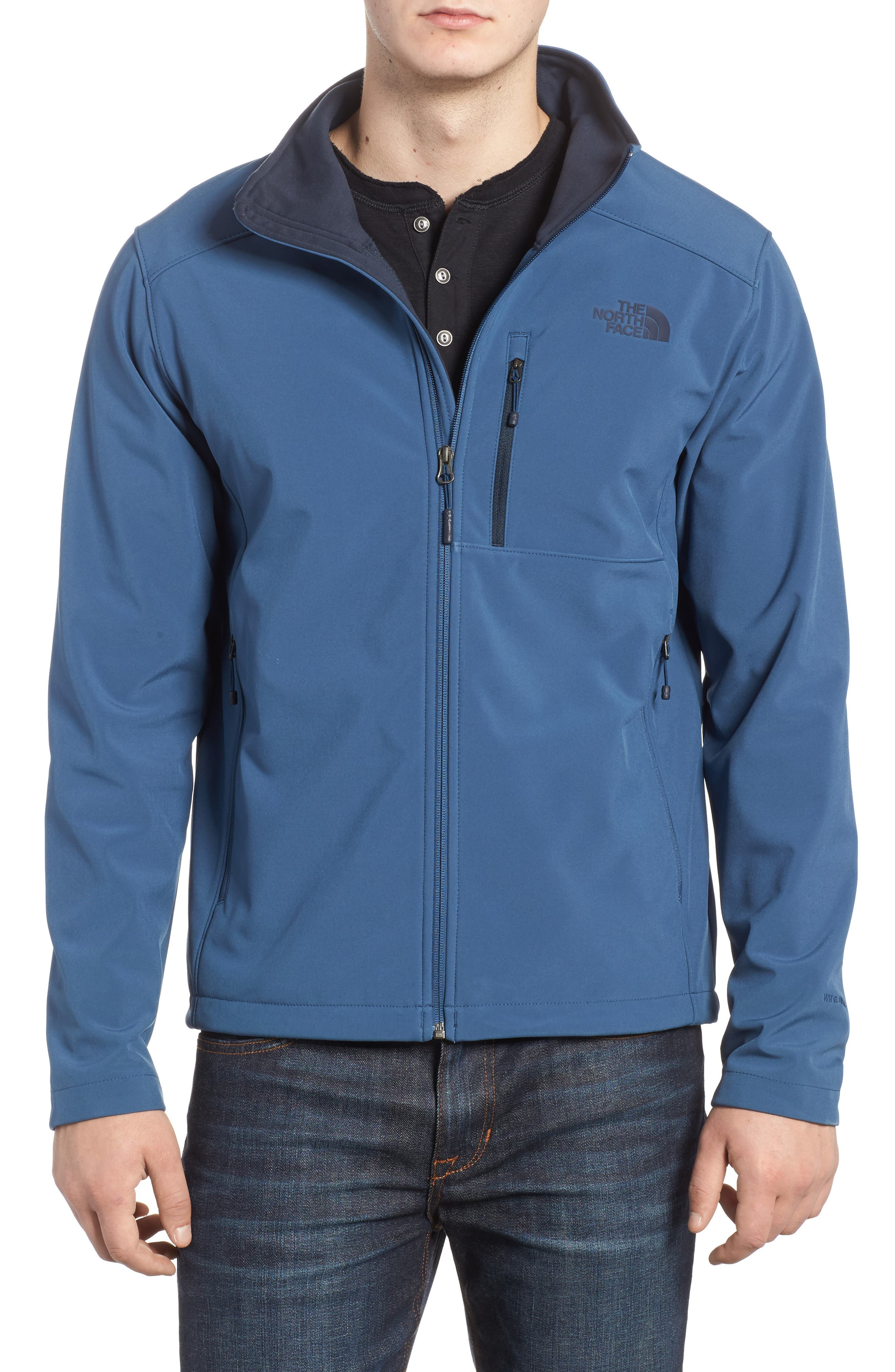 Main Image - The North Face 'Apex Bionic 2' Windproof & Water Resistant Soft Shell Jacket