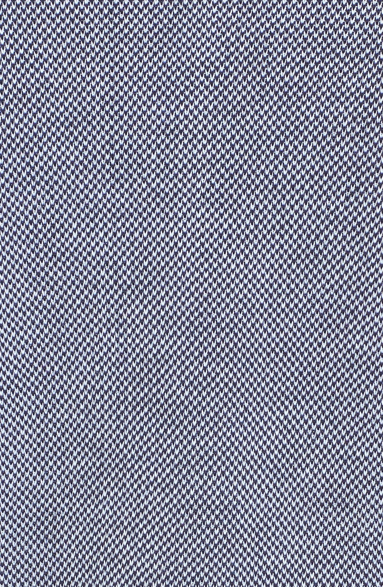 Abstract Jacquard Jacket,                             Alternate thumbnail 5, color,                             Navy/ White