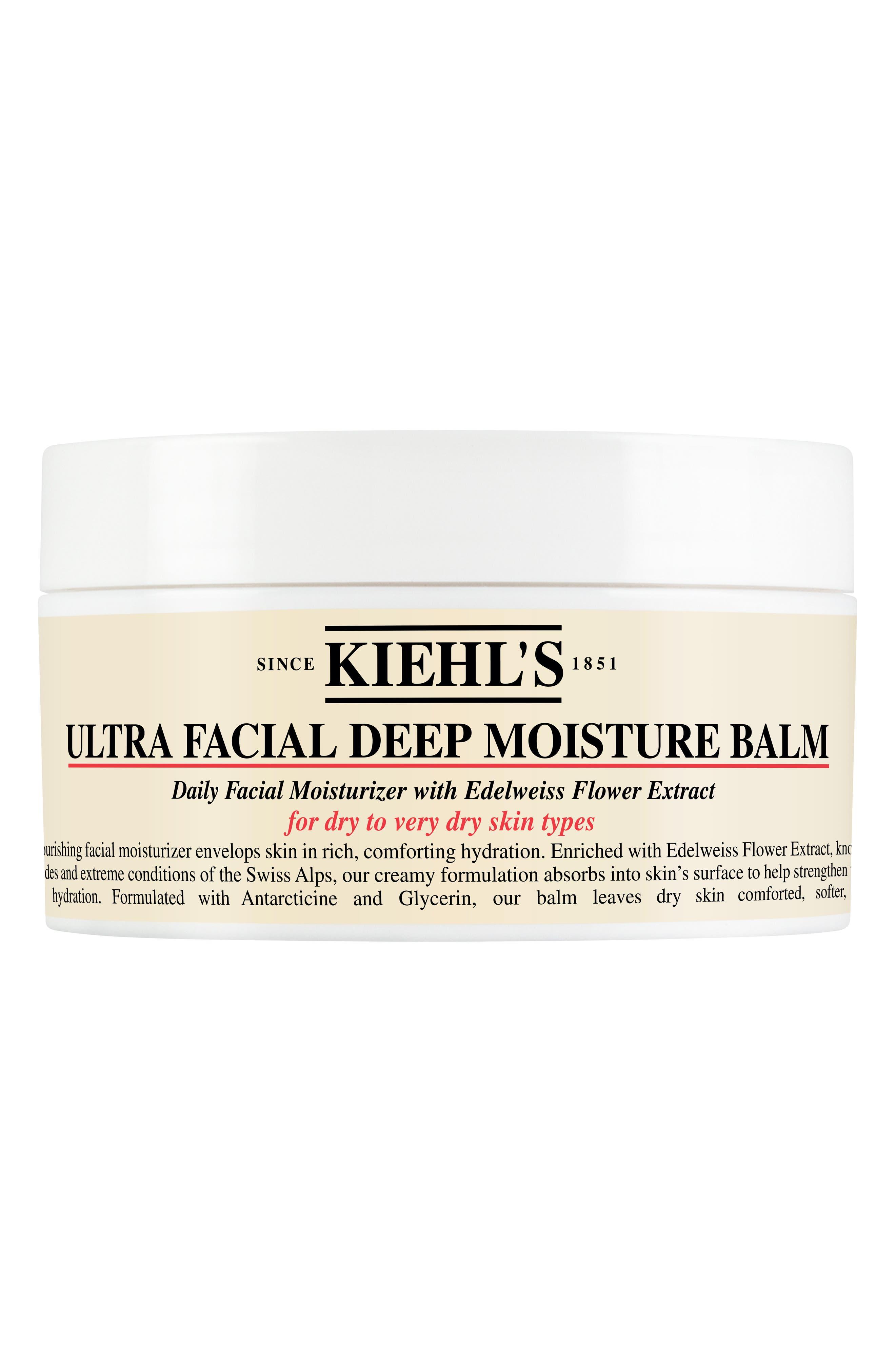Ultra Facial Deep Moisture Balm for Drier Skin Types,                             Main thumbnail 1, color,                             No Color