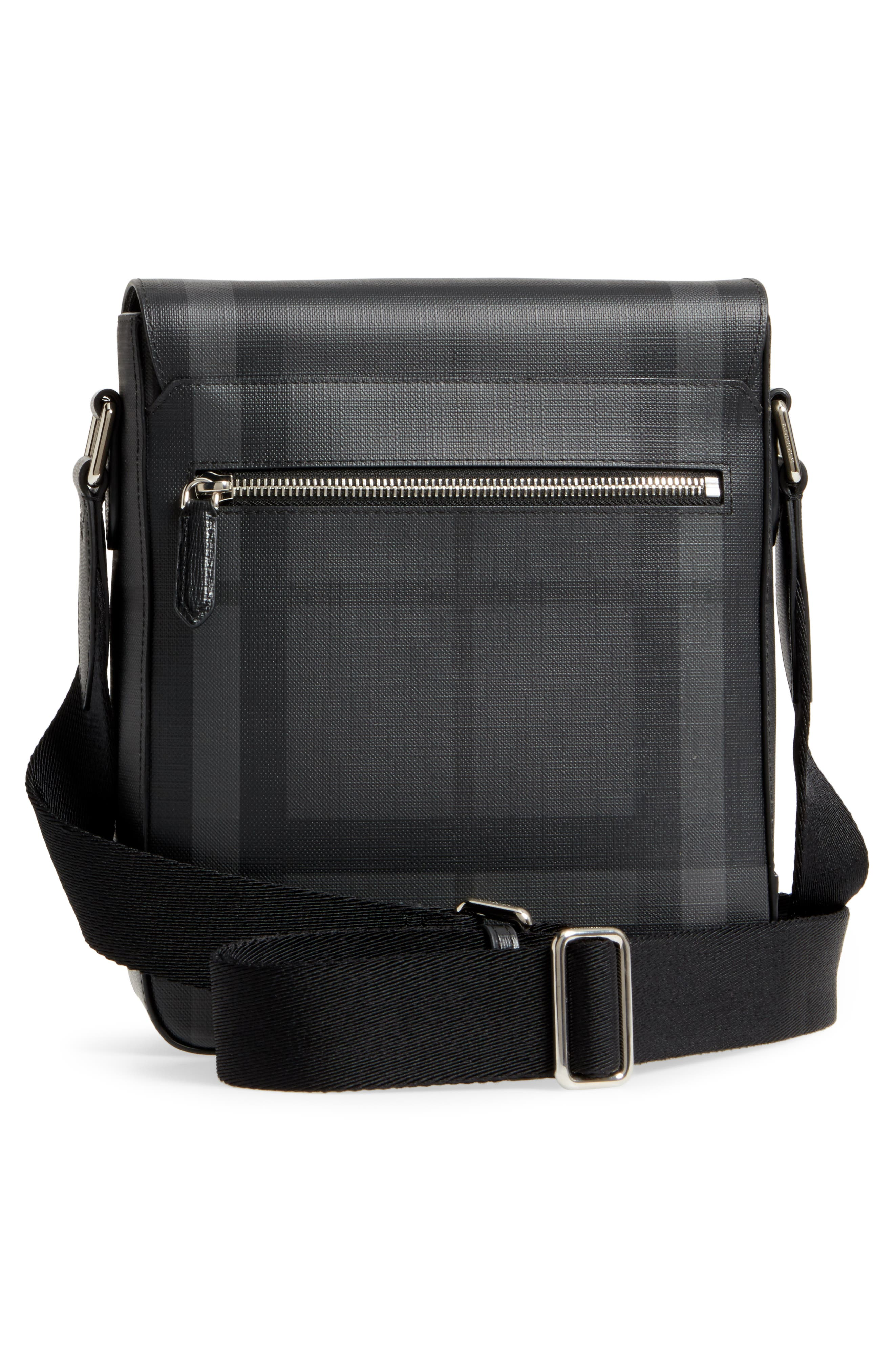 Greenford Crossbody Bag,                             Alternate thumbnail 3, color,                             Charcoal/ Black