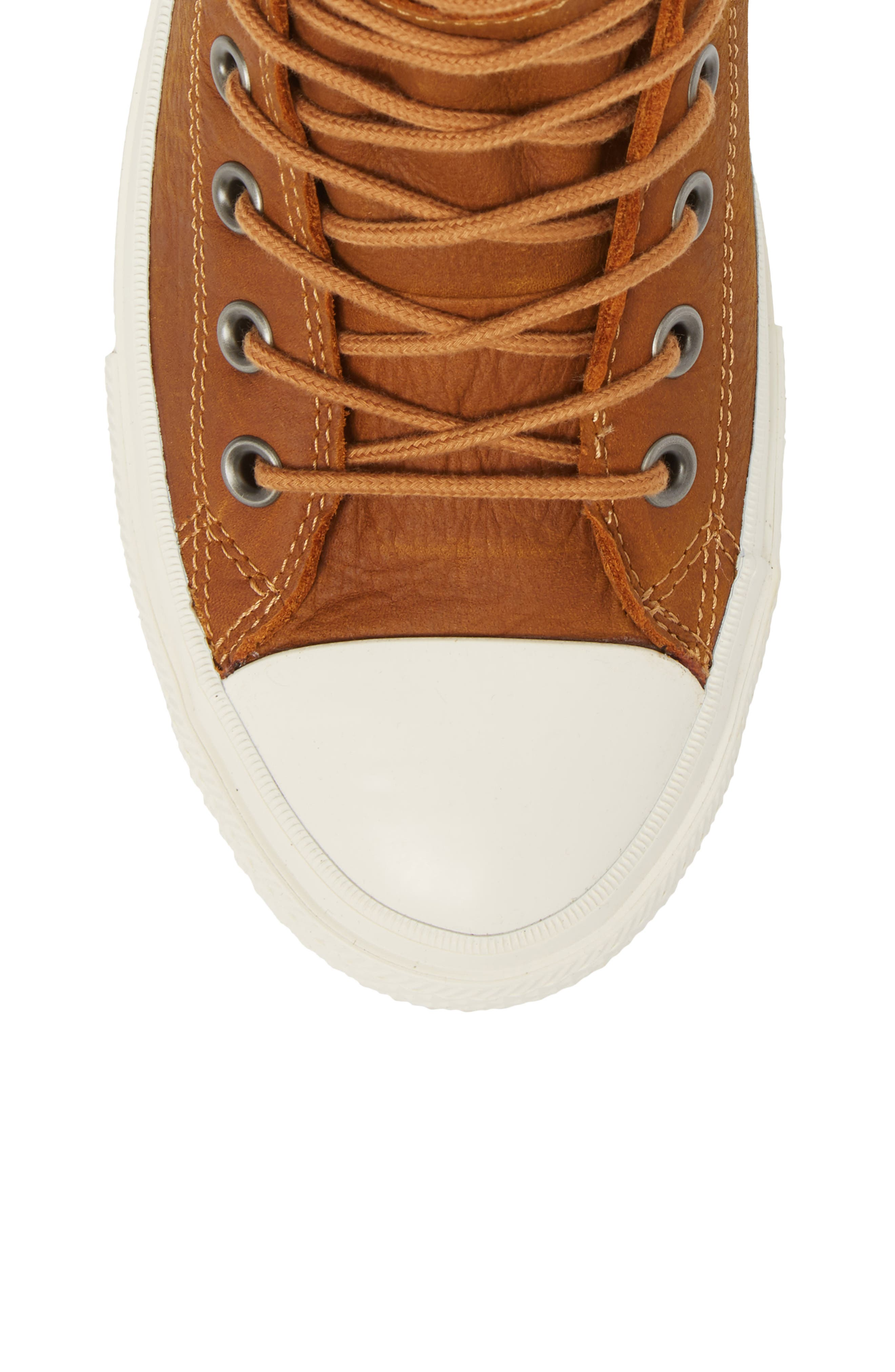Chuck Taylor<sup>®</sup> All Star<sup>®</sup> Waterproof Sneaker,                             Alternate thumbnail 5, color,                             Raw Sugar