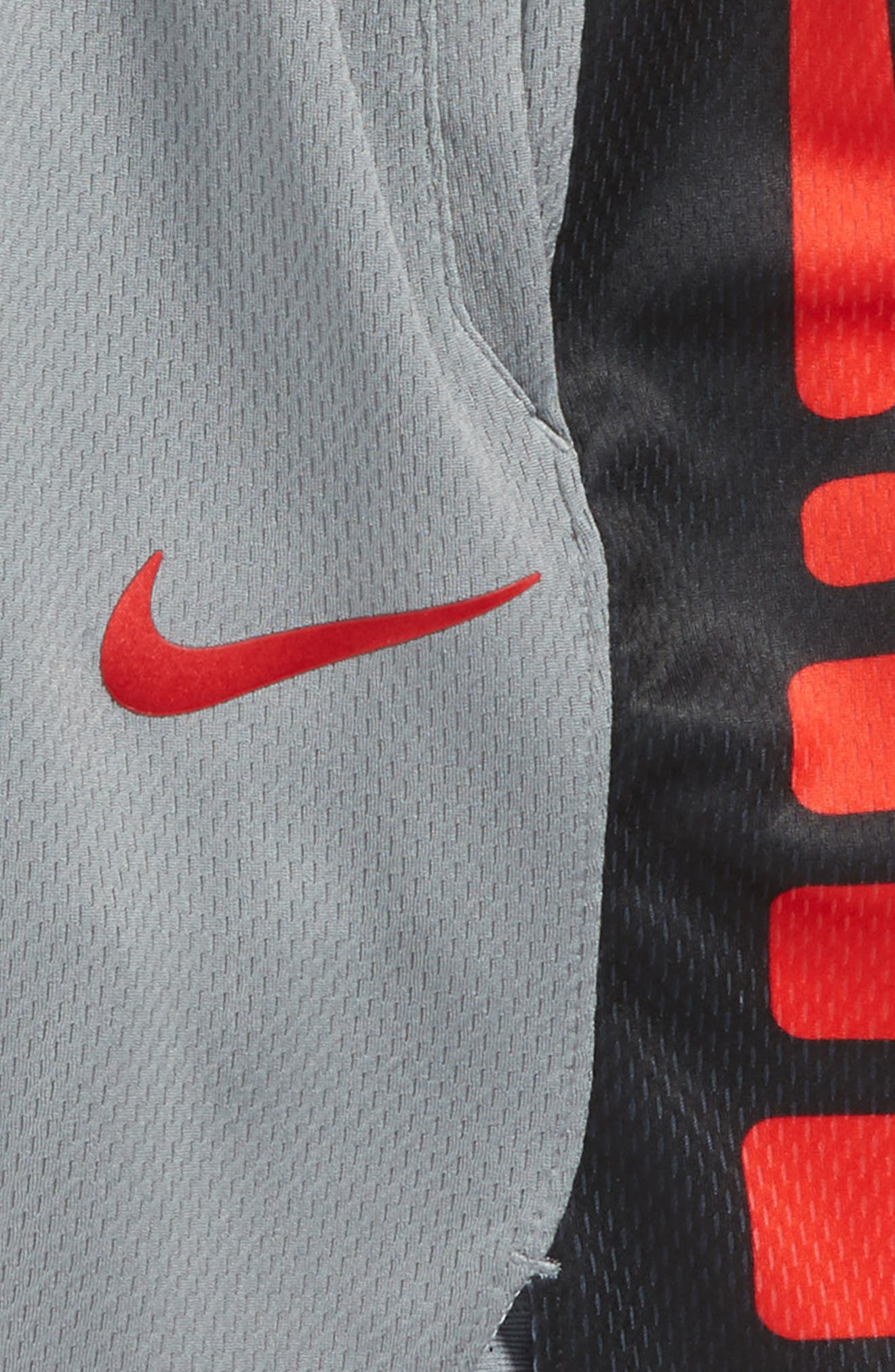 Dry Elite Basketball Shorts,                             Alternate thumbnail 2, color,                             Grey