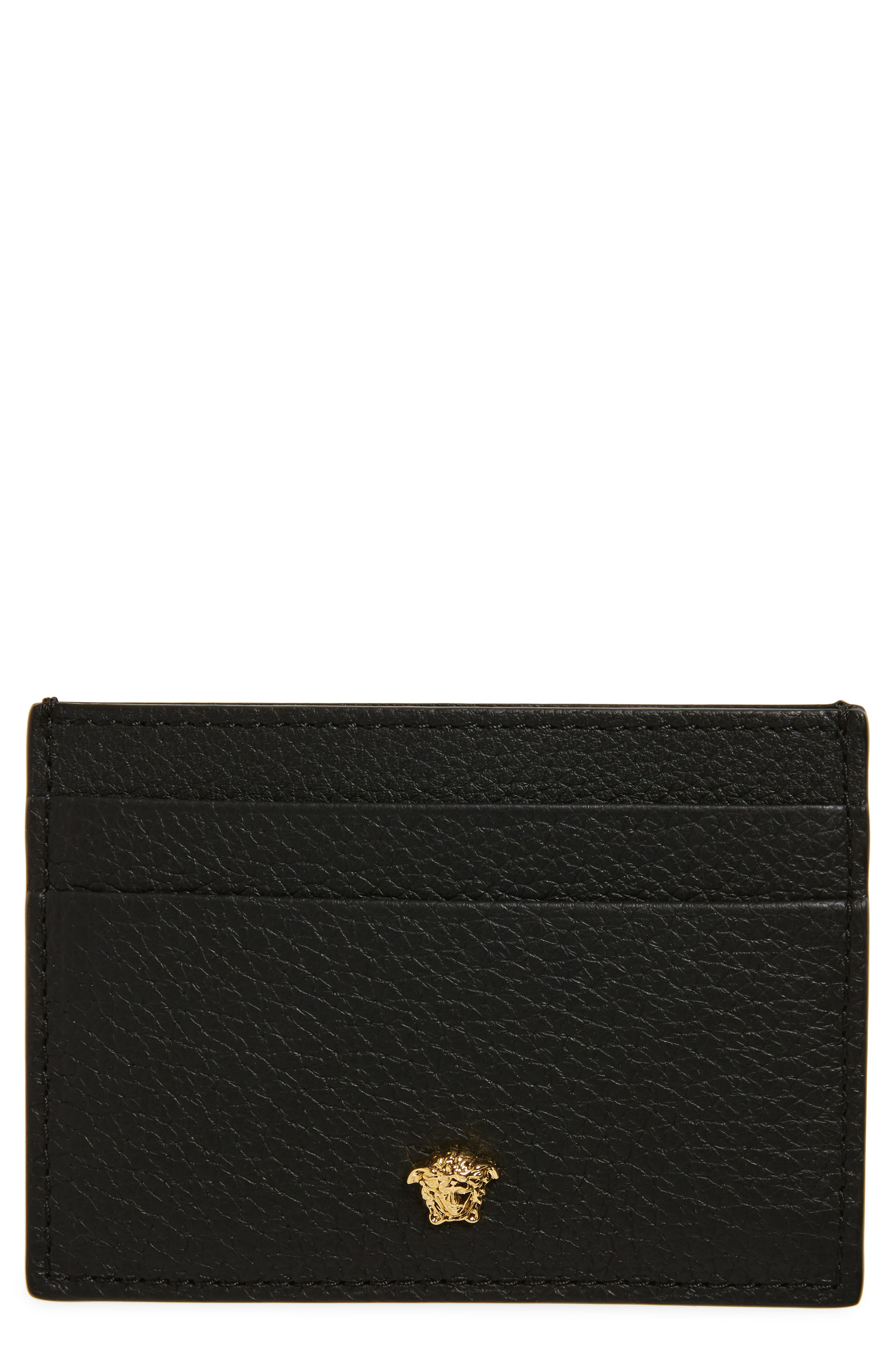 Versace First Line Leather Card Case