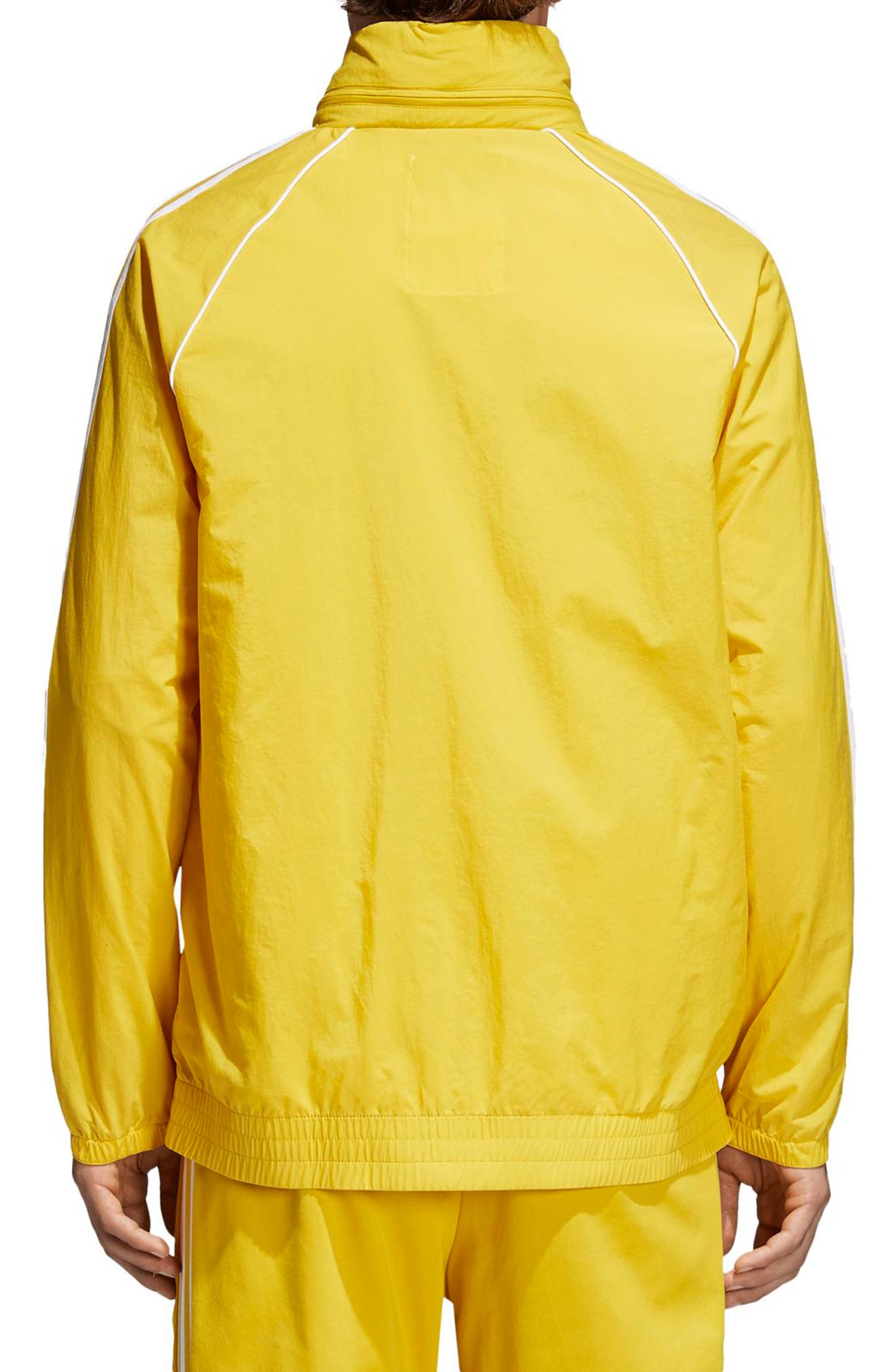 SST Windbreaker,                             Alternate thumbnail 2, color,                             Tribe Yellow