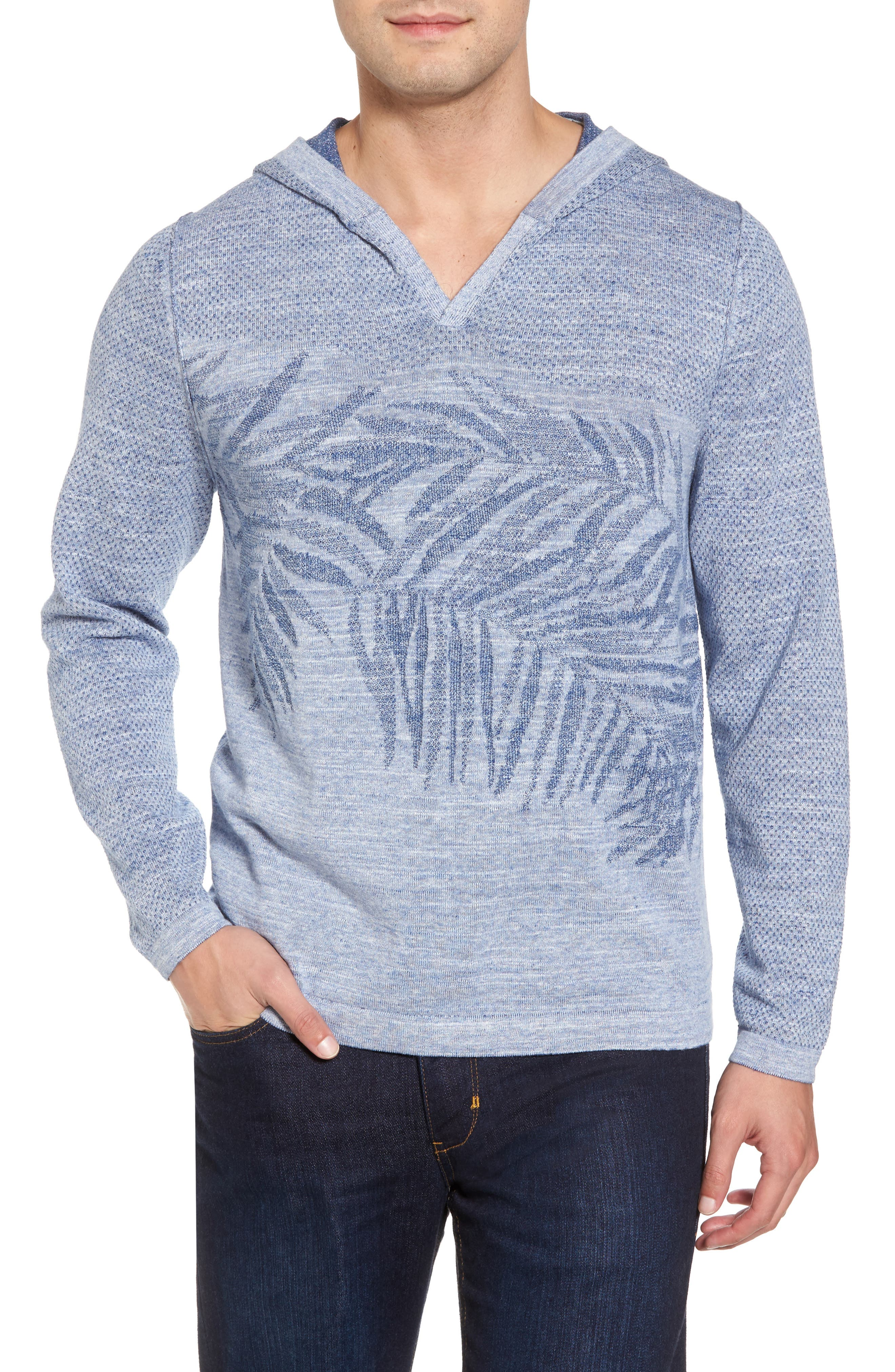 Main Image - Tommy Bahama Palmetto Hooded Pullover