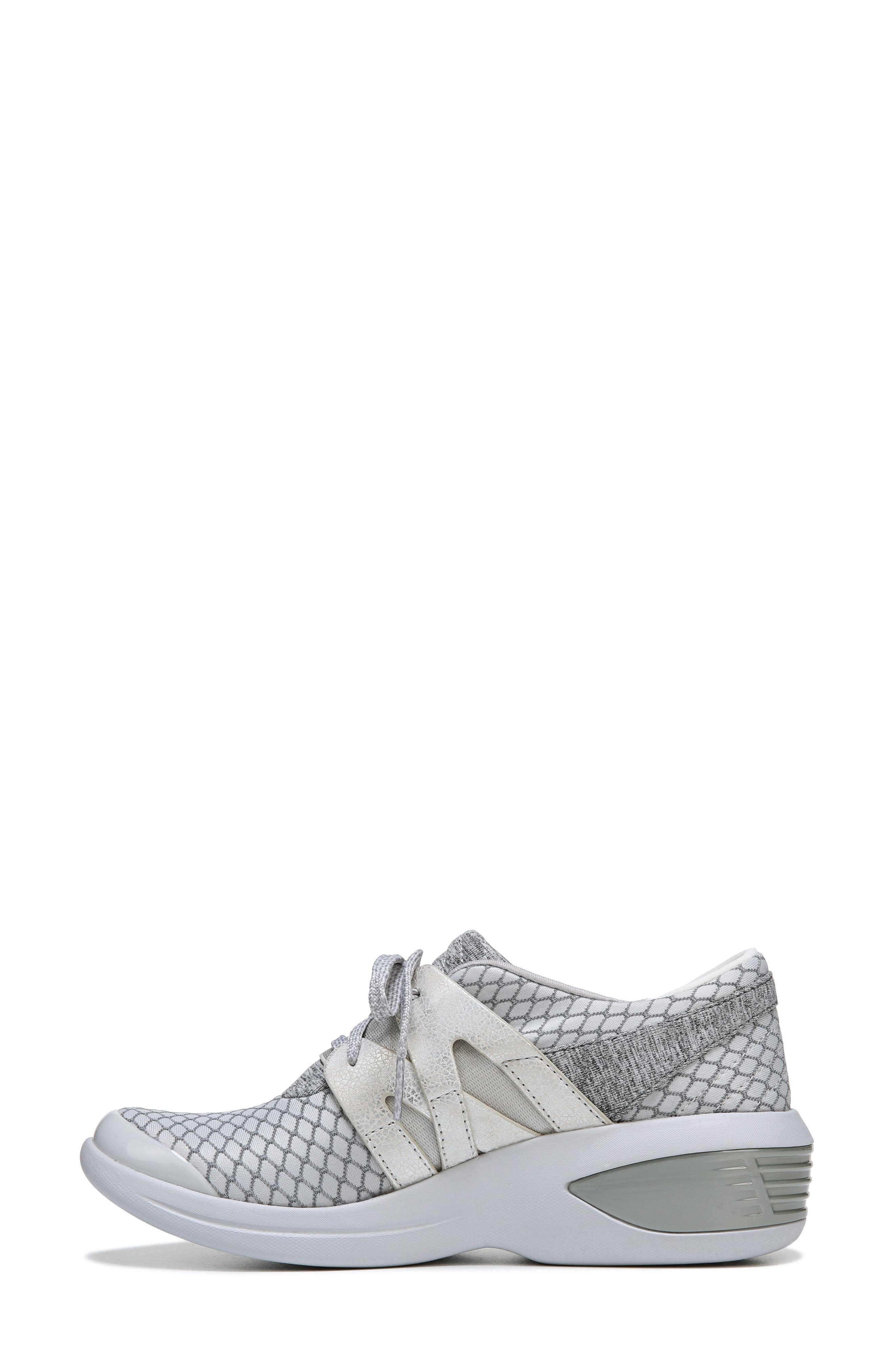 Flicker Sneaker,                             Alternate thumbnail 4, color,                             Grey Fabric