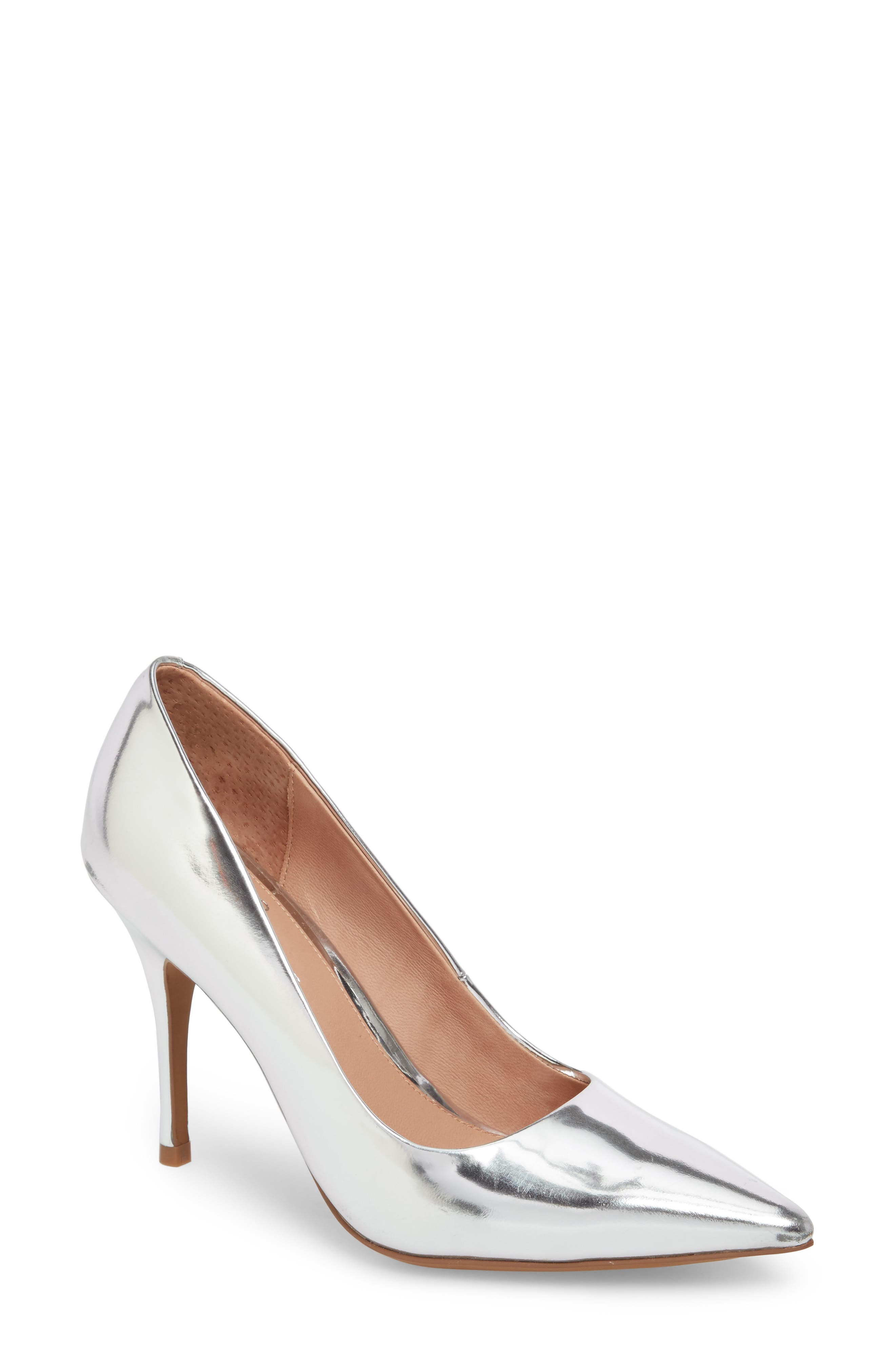 Alternate Image 1 Selected - Linea Paolo Payton Pointy Toe Pump (Women)