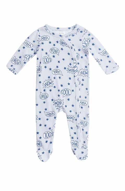 Baby gifts nordstrom nordstrom baby print footie baby negle Gallery