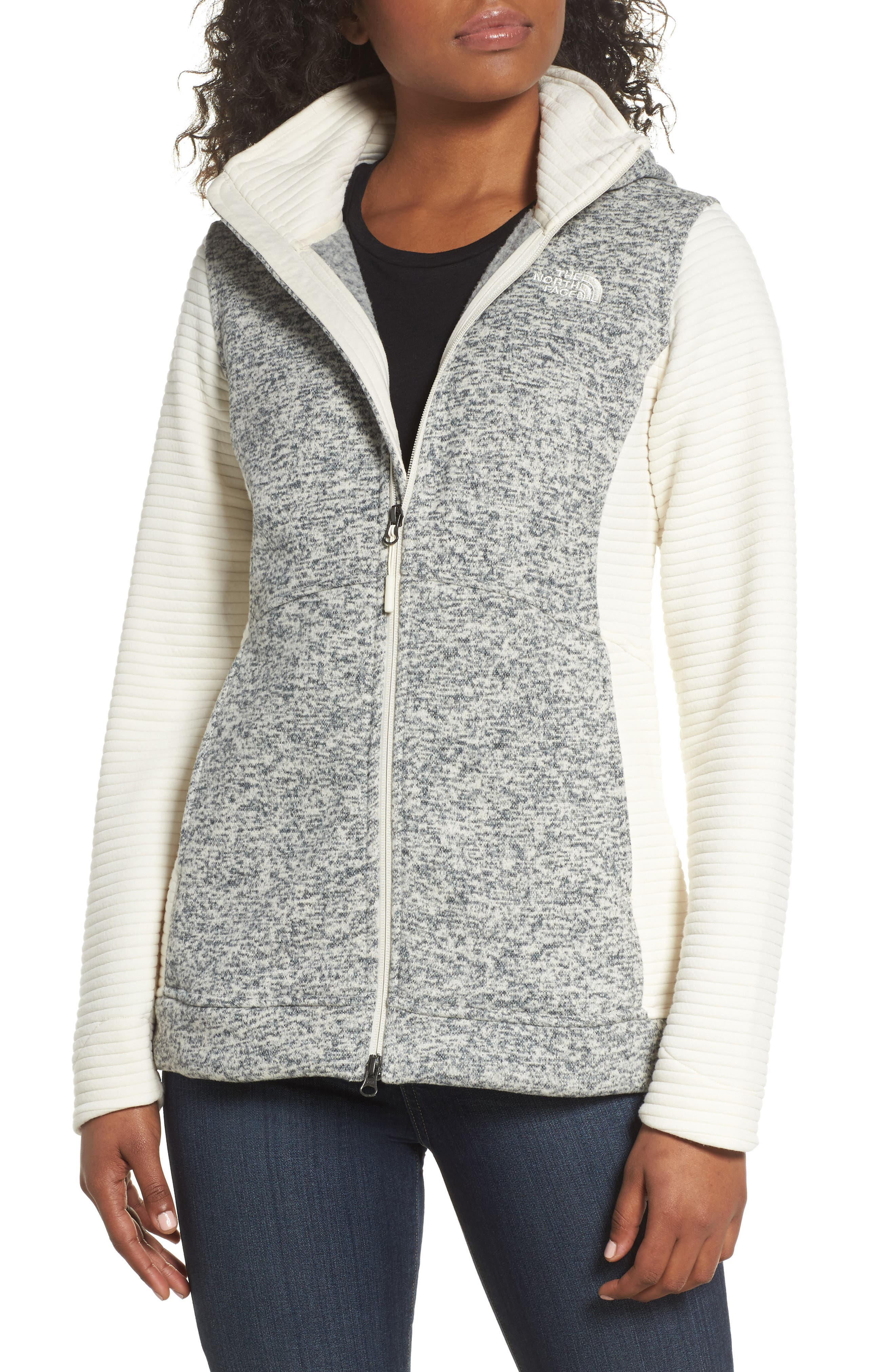 Alternate Image 1 Selected - The North Face Indi 2 Hooded Knit Parka