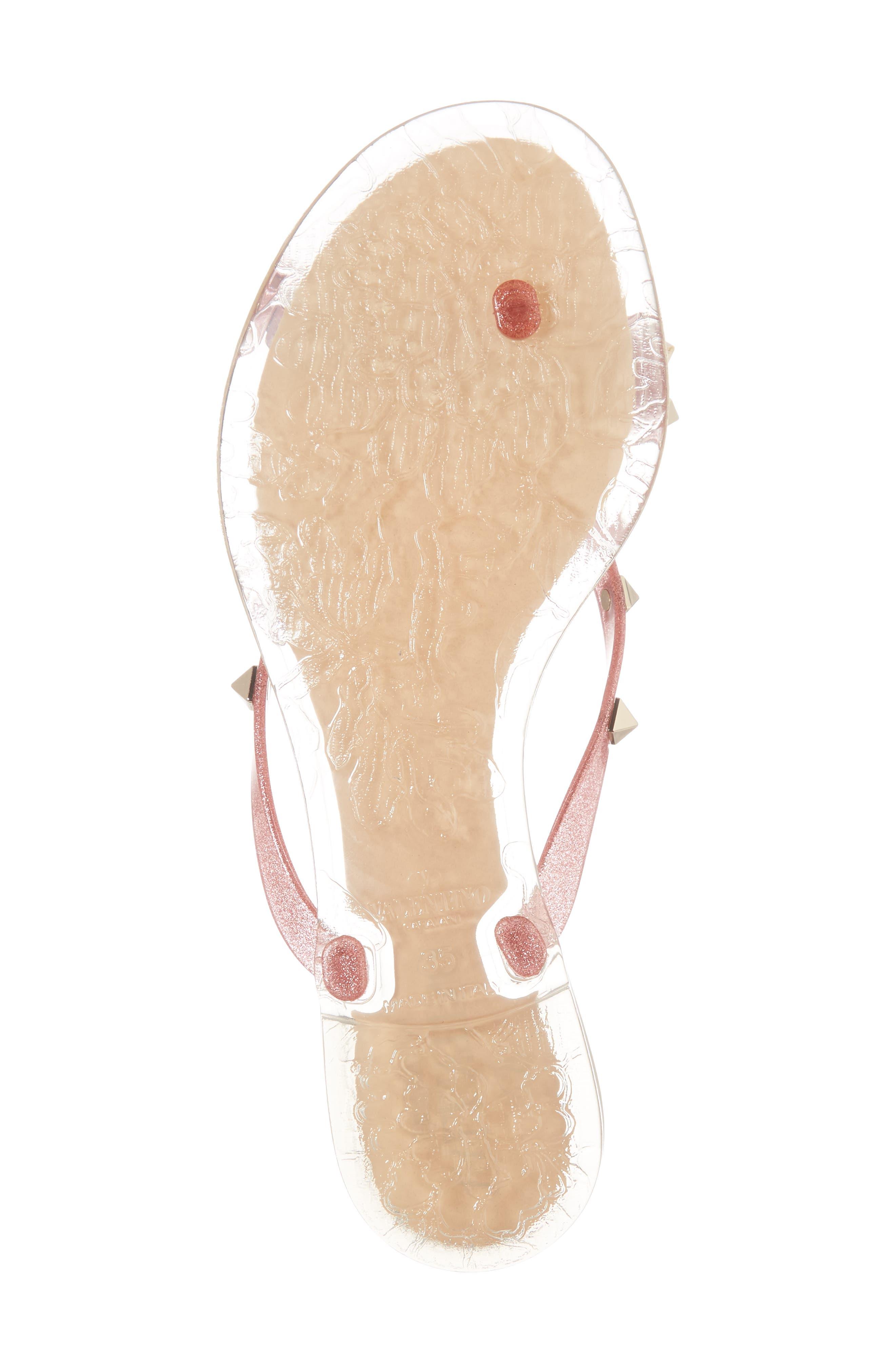 Alternate Image 6  - VALENTINO GARAVANI 'Rockstud' Flip Flop (Women)