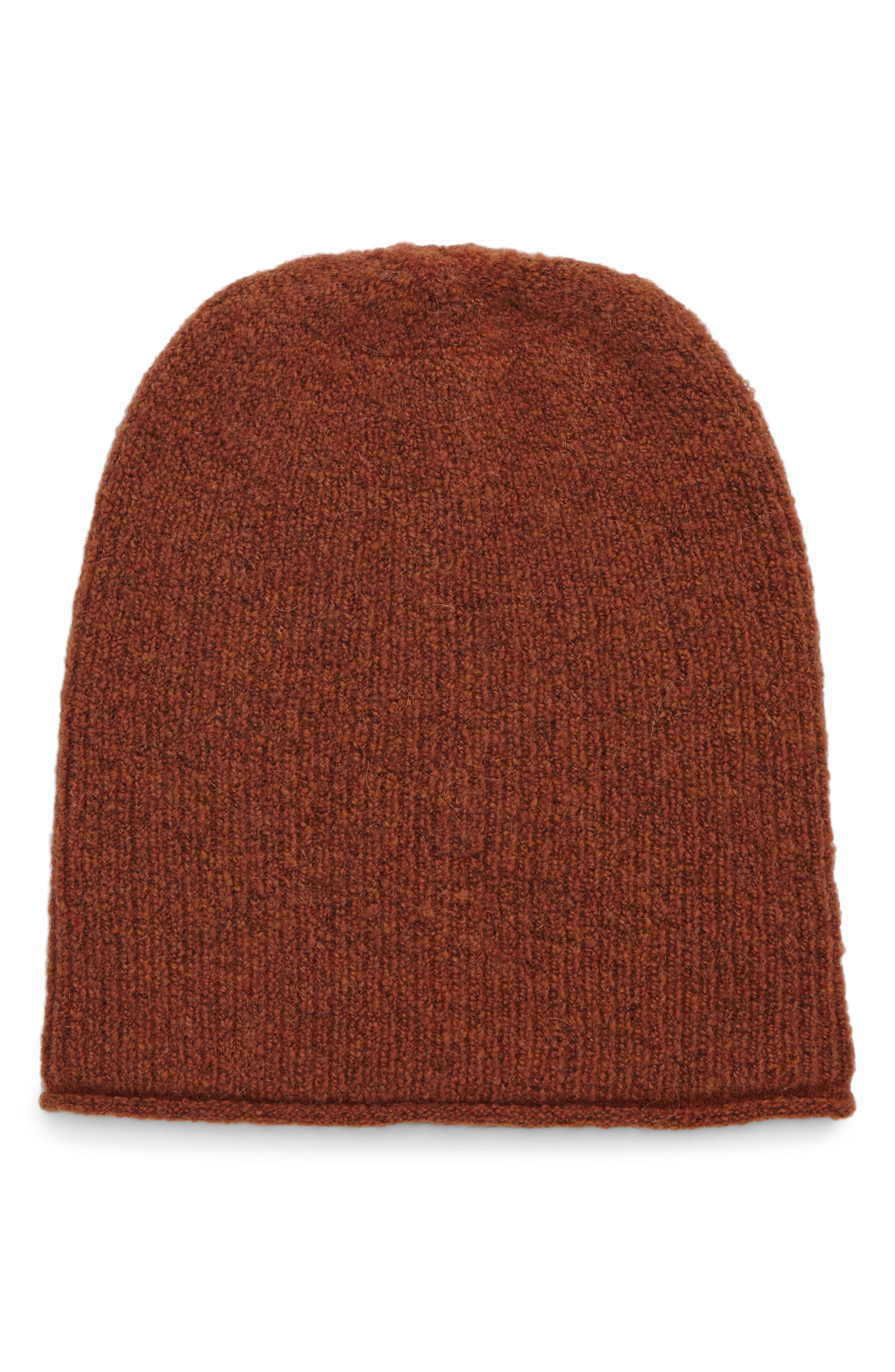 Ryder Beanie,                             Main thumbnail 1, color,                             Heather After Glow