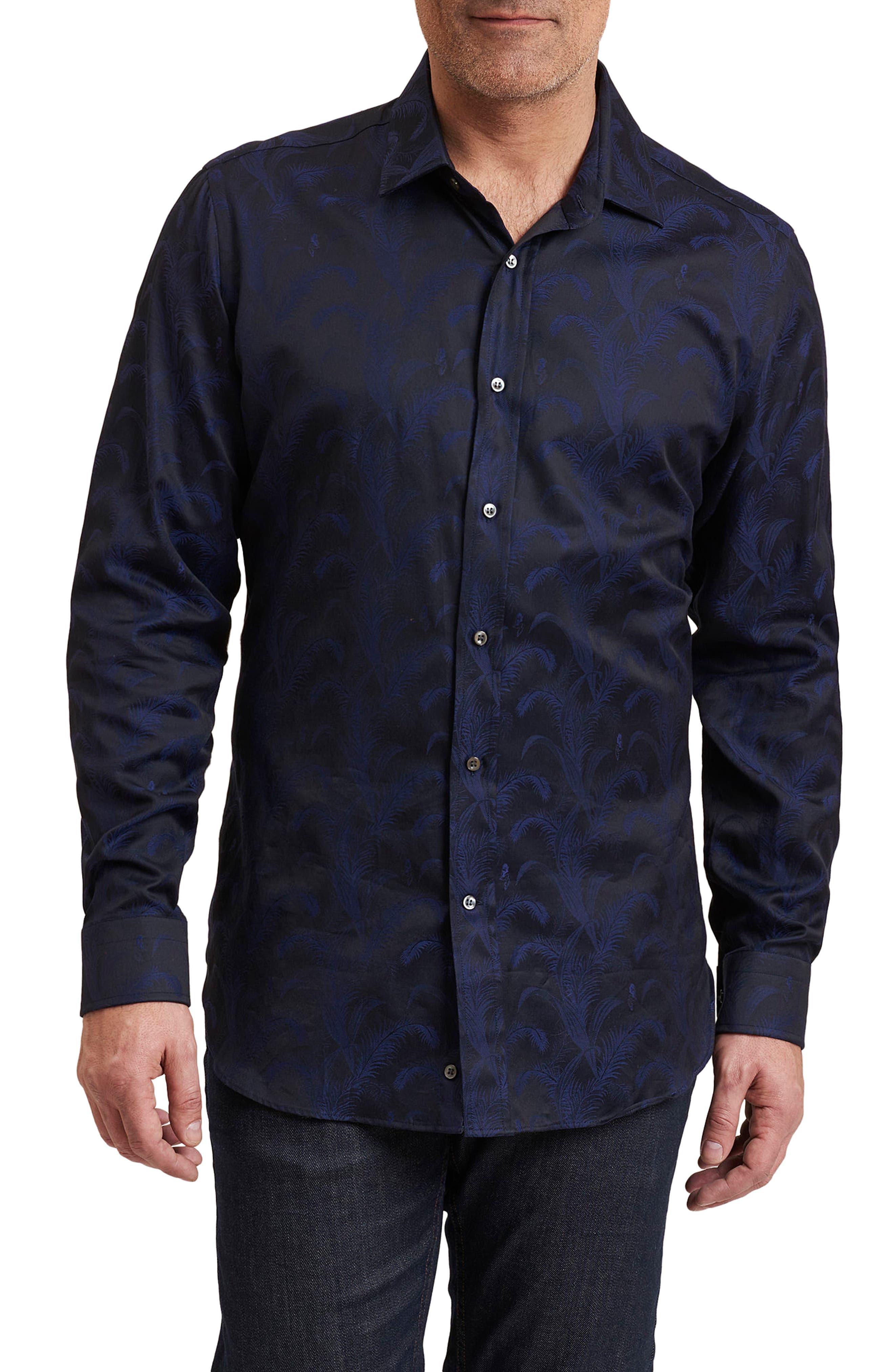 Robert Graham Jungle Regular Fit Print Sport Shirt