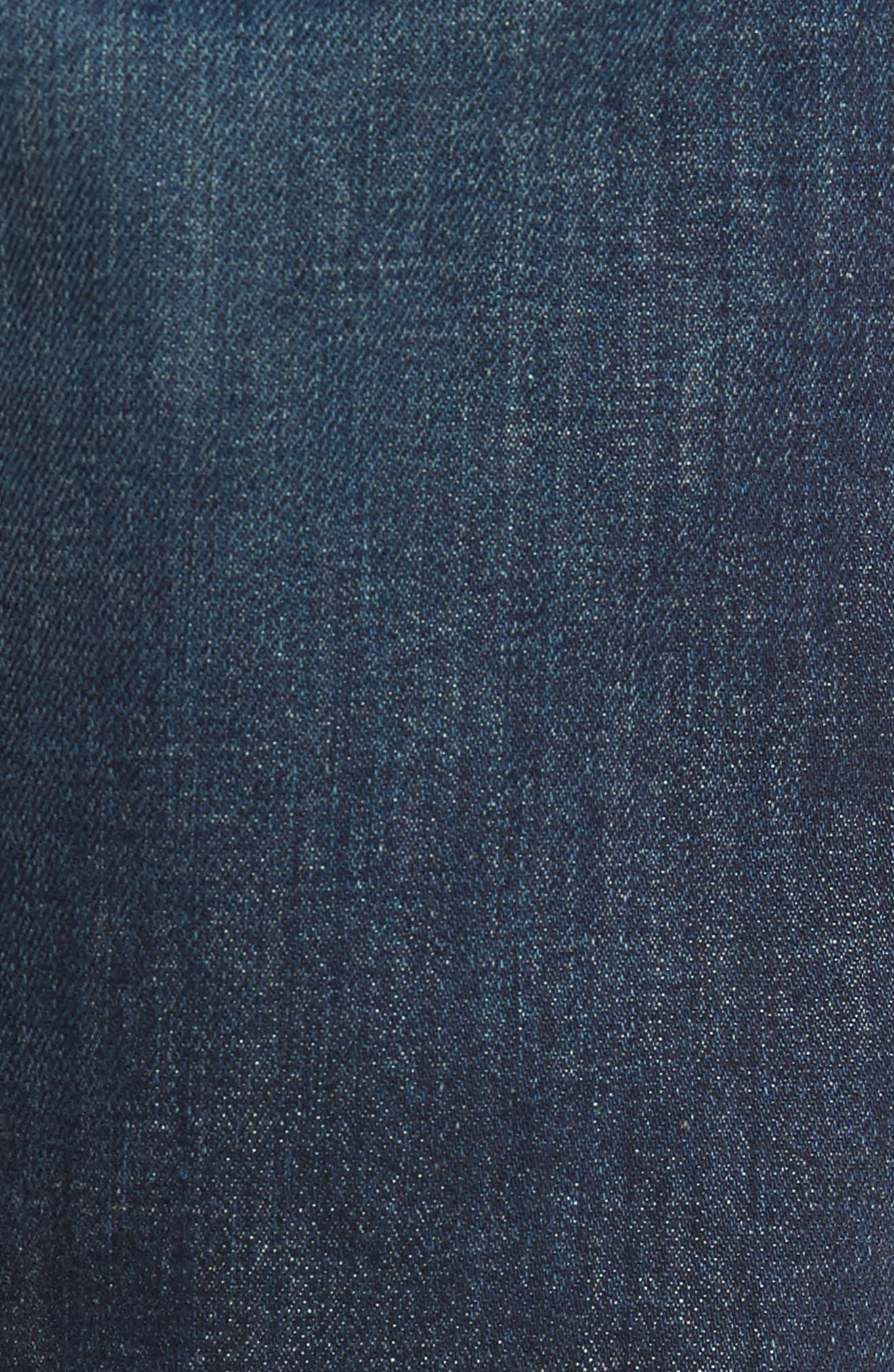 Fit 1 Skinny Fit Jeans,                             Alternate thumbnail 6, color,                             Linden