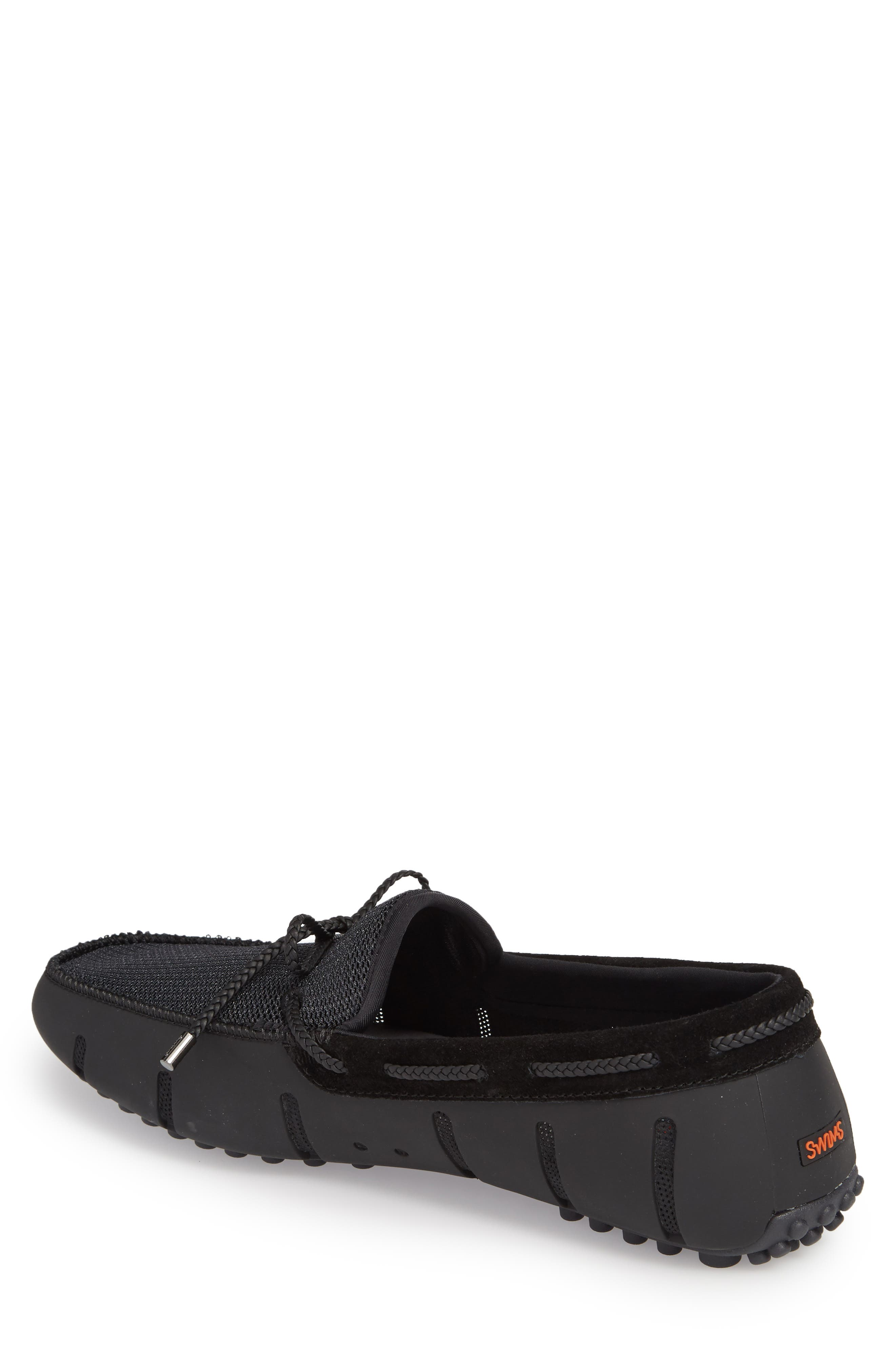 Driving Shoe,                             Alternate thumbnail 2, color,                             Black/ Graphite