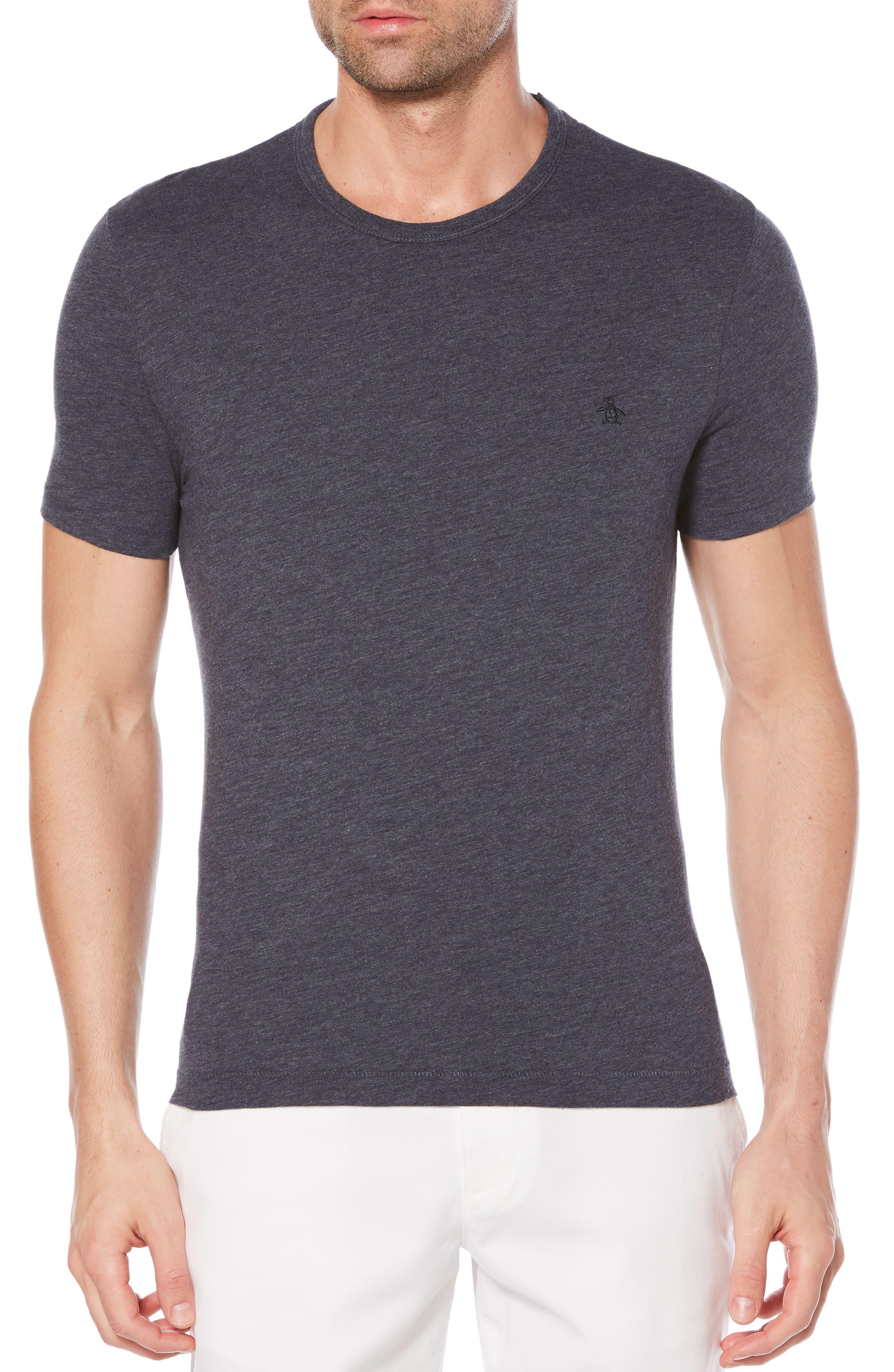 Heritage Slim Slub T-Shirt,                         Main,                         color, Dark Sapphire