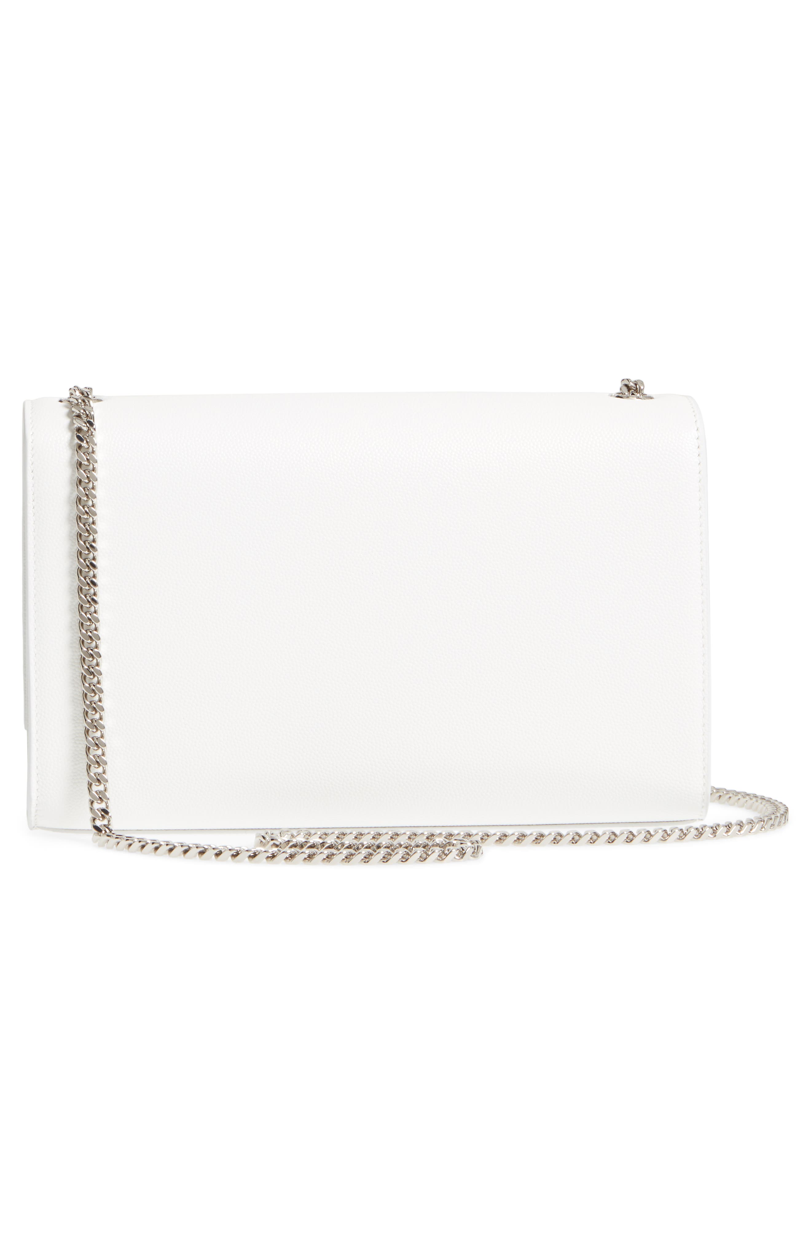 Alternate Image 3  - Saint Laurent Medium Kate Calfskin Leather Wallet on a Chain