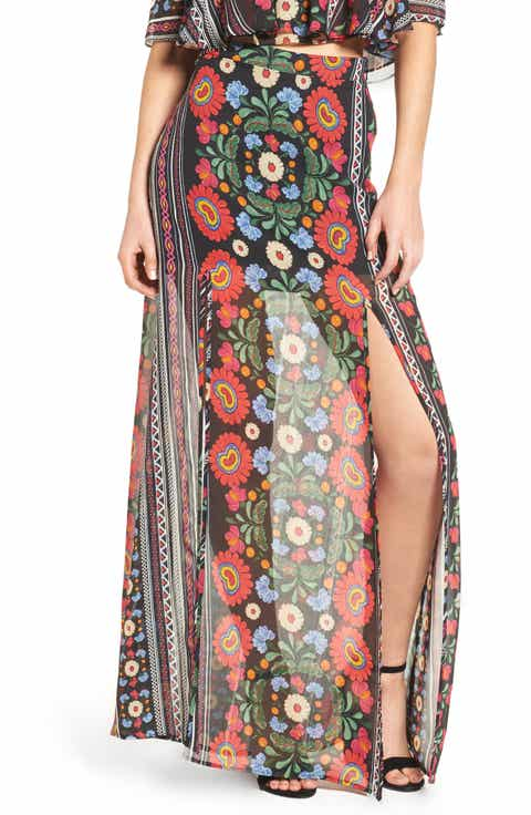 Show Me Your Mumu Mick Double Slit Skirt