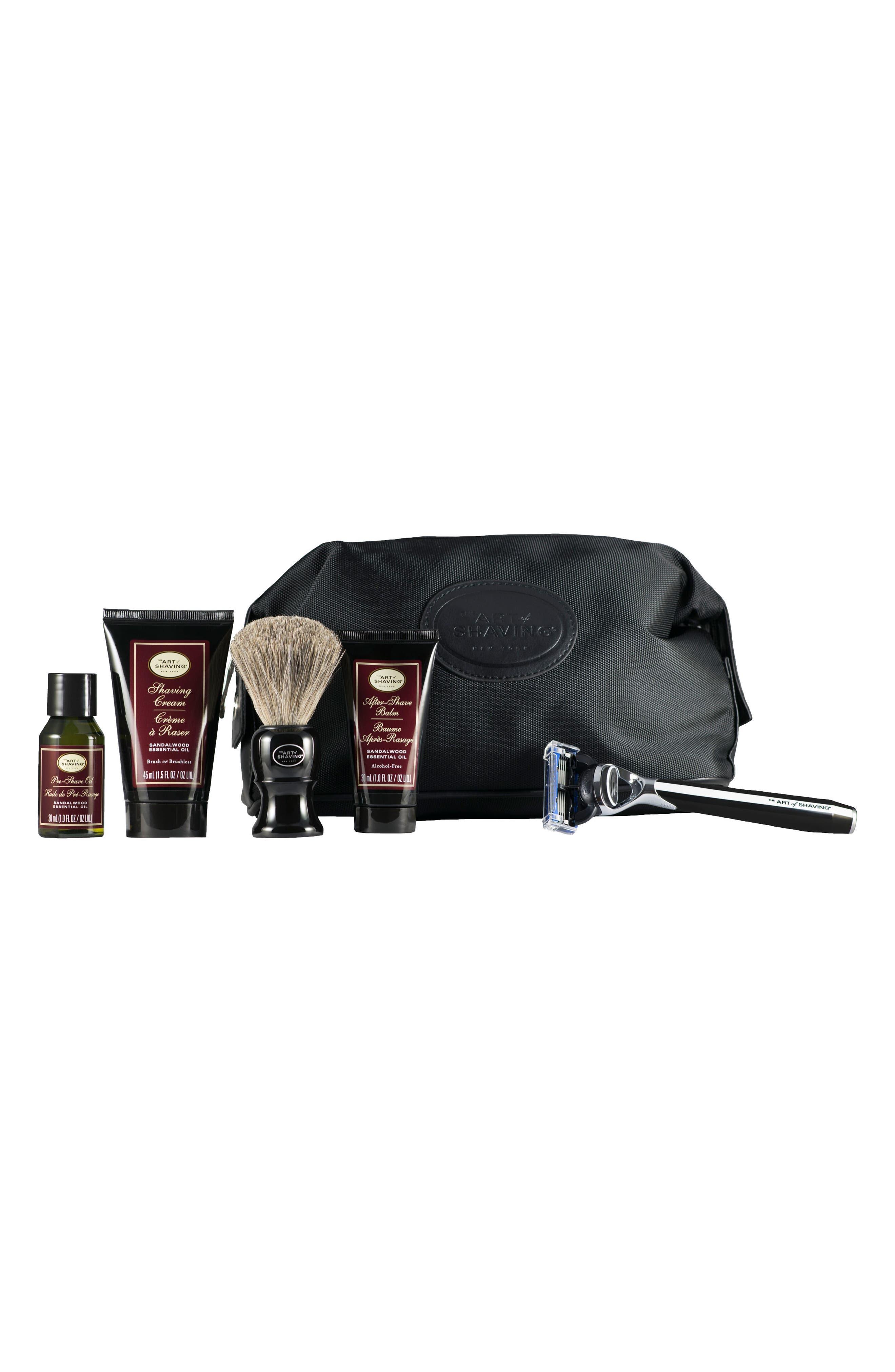 The Art of Shaving® Morris Park Razor & Travel Kit ($166 Value)