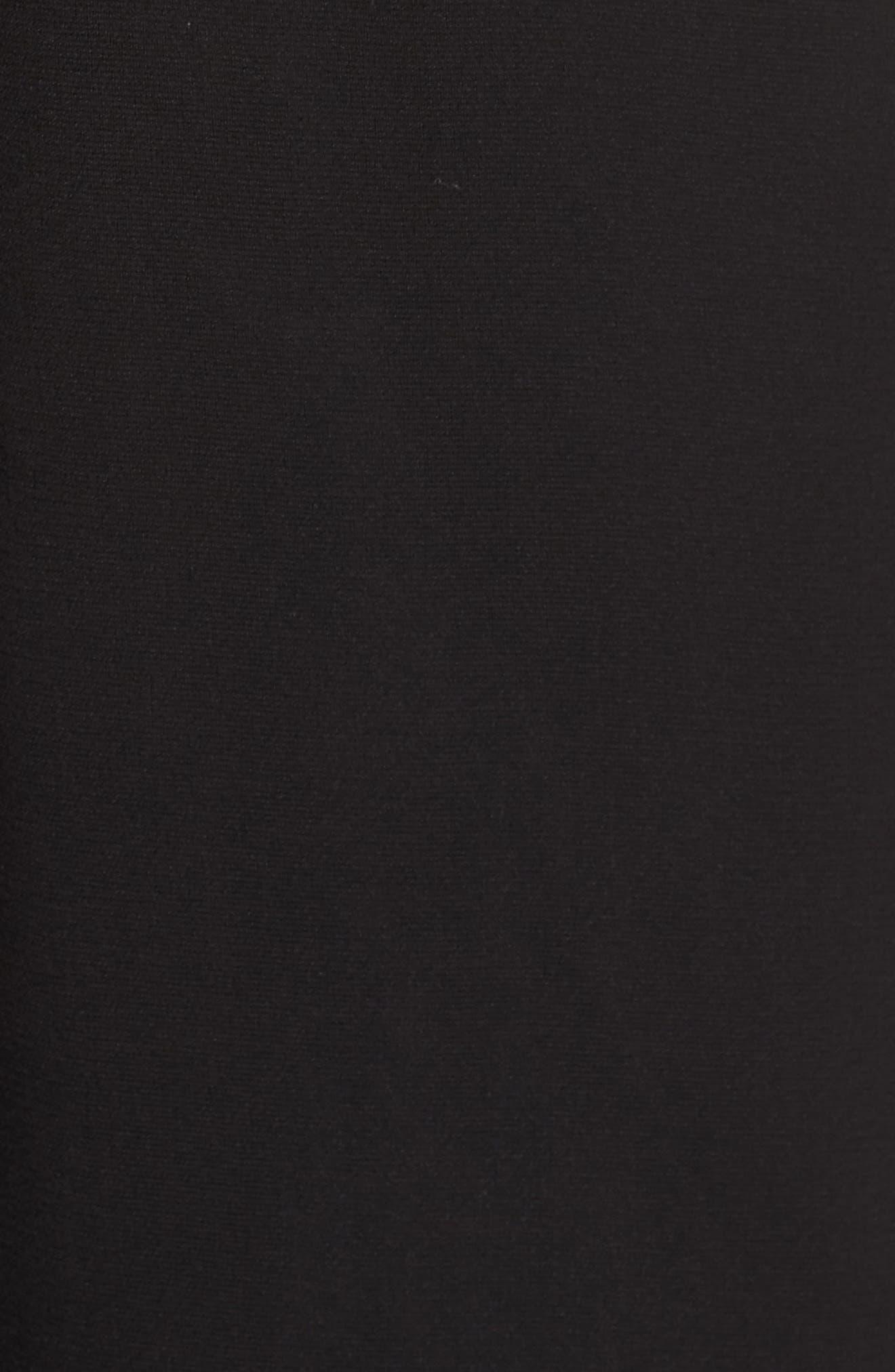 Big Picture Halter Jumpsuit,                             Alternate thumbnail 6, color,                             Black