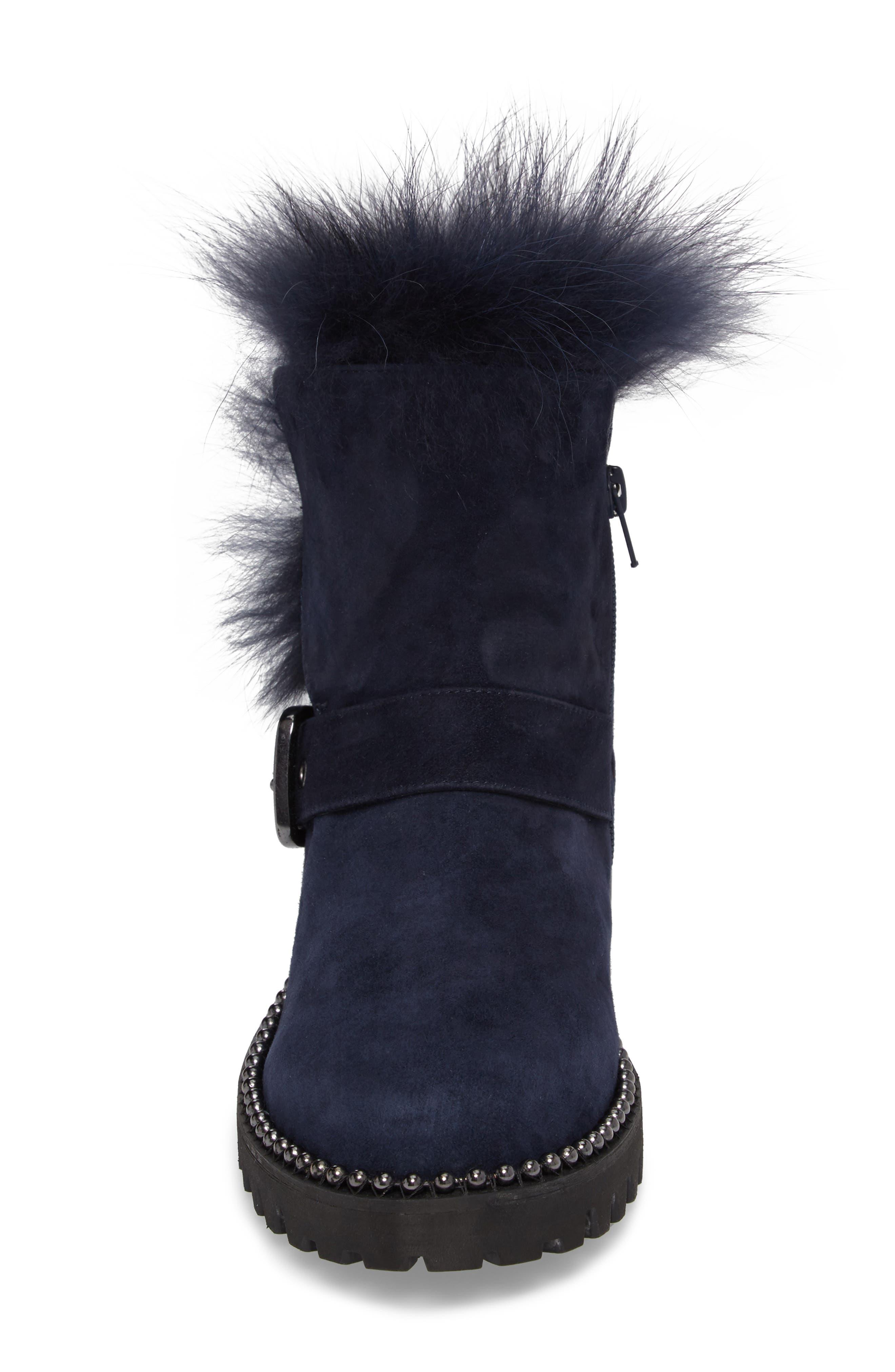 Alternate Image 4  - Cecelia New York Theresa Boot with Genuine Fox Fur Trim (Women)