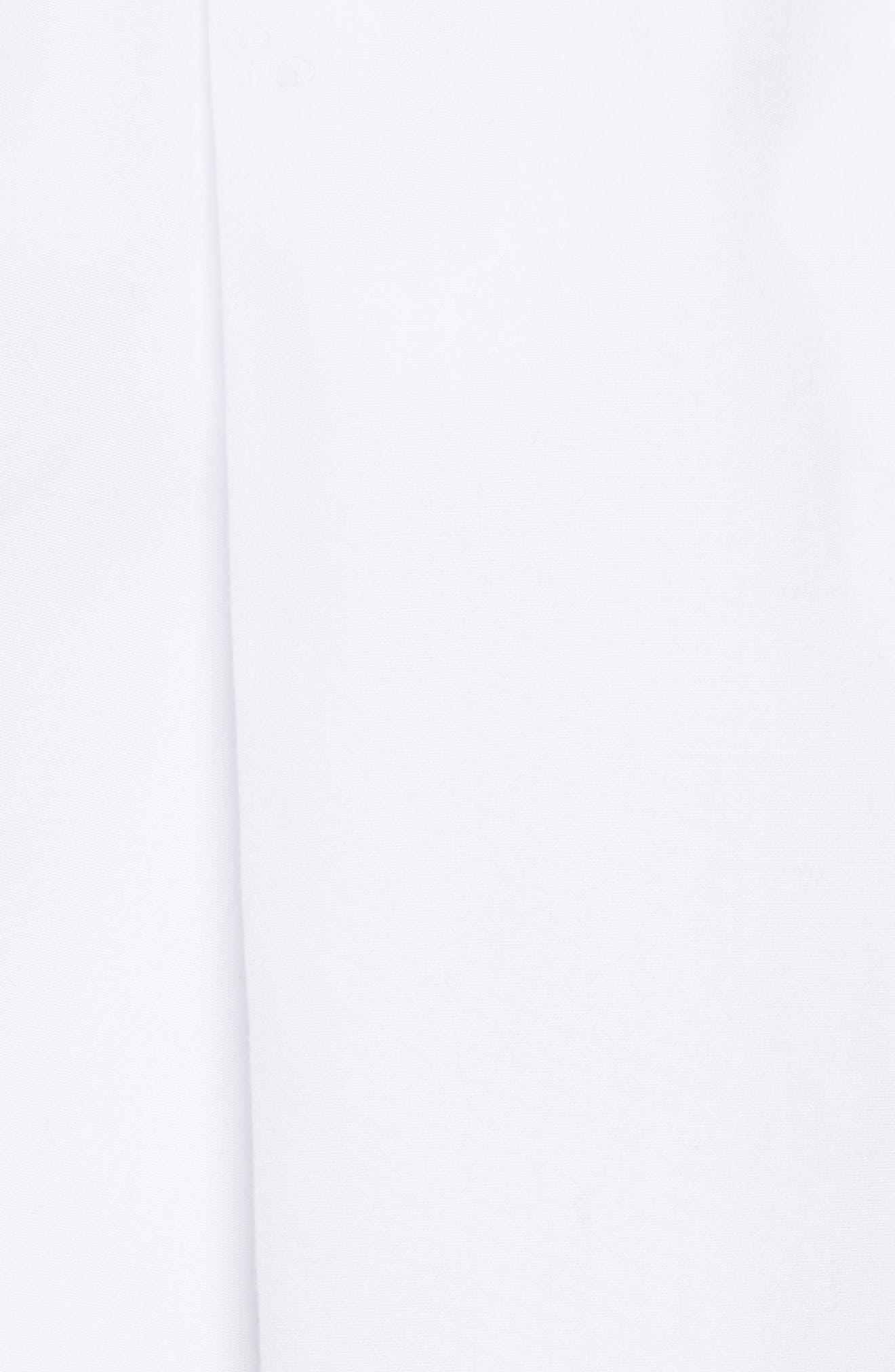 Drawstring Cotton Shorts,                             Alternate thumbnail 5, color,                             White
