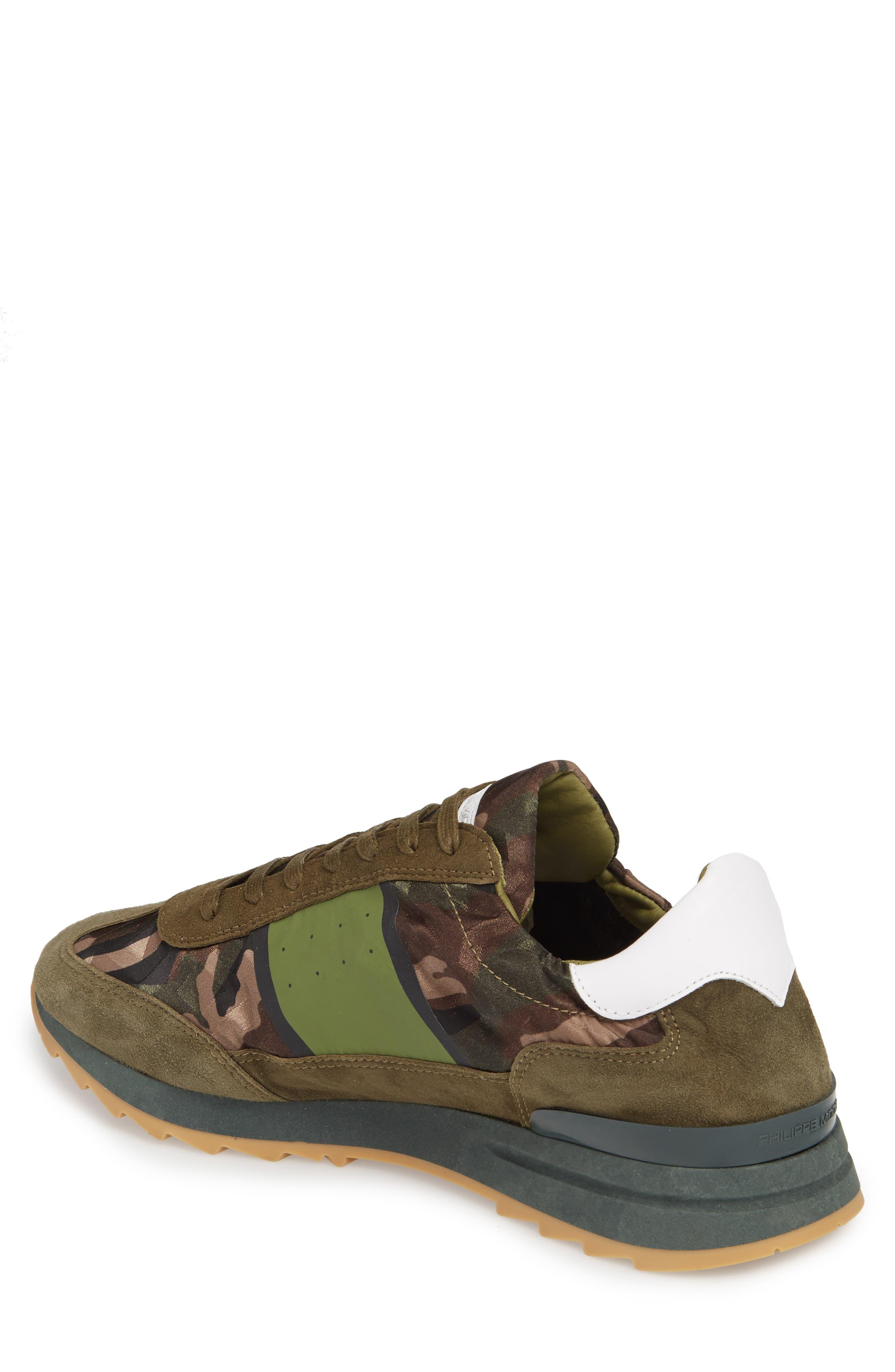 Toujours Sneaker,                             Alternate thumbnail 2, color,                             Green/ Green