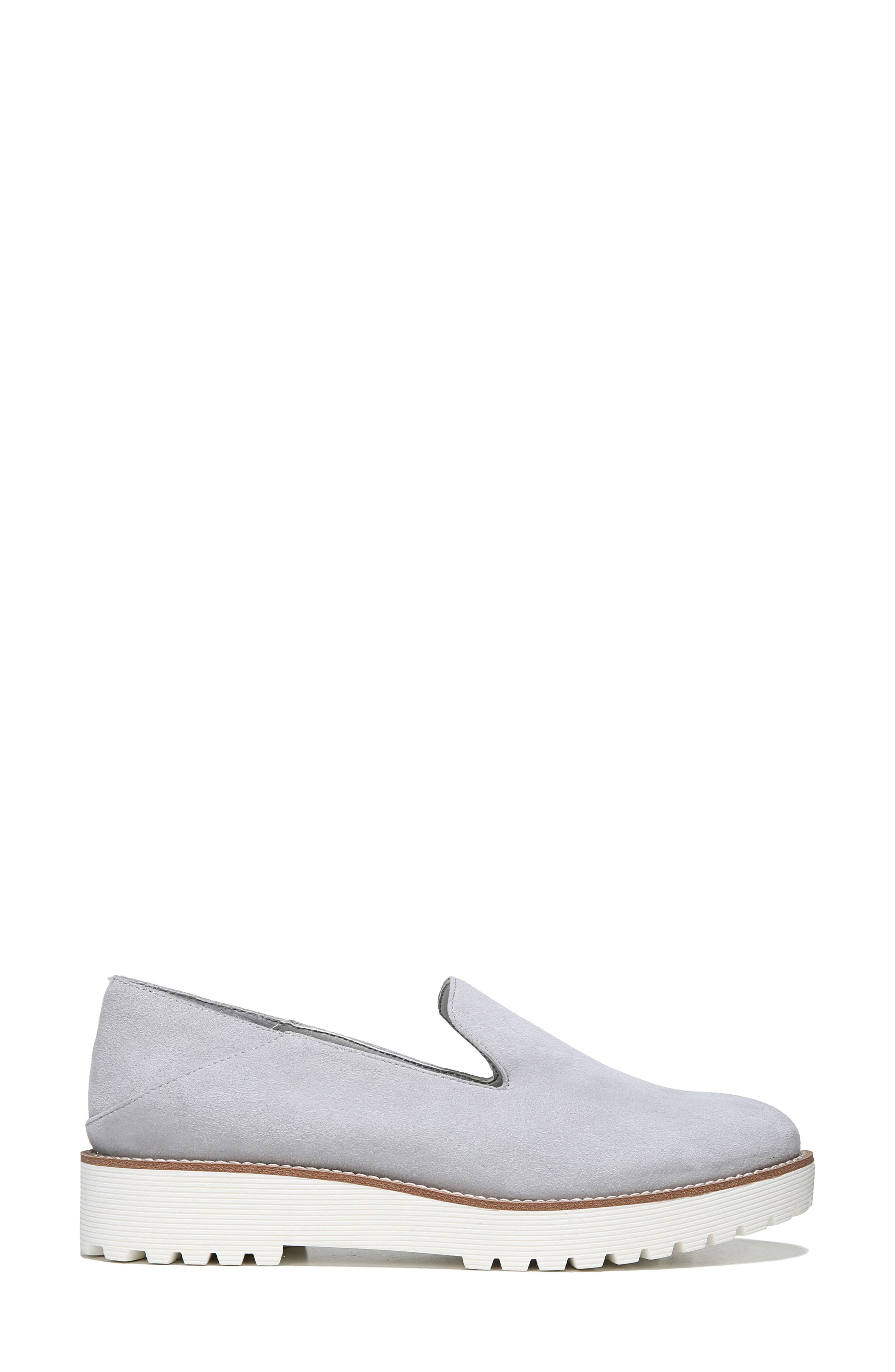 Jaxton Loafer,                             Alternate thumbnail 4, color,                             Artic Grey Suede