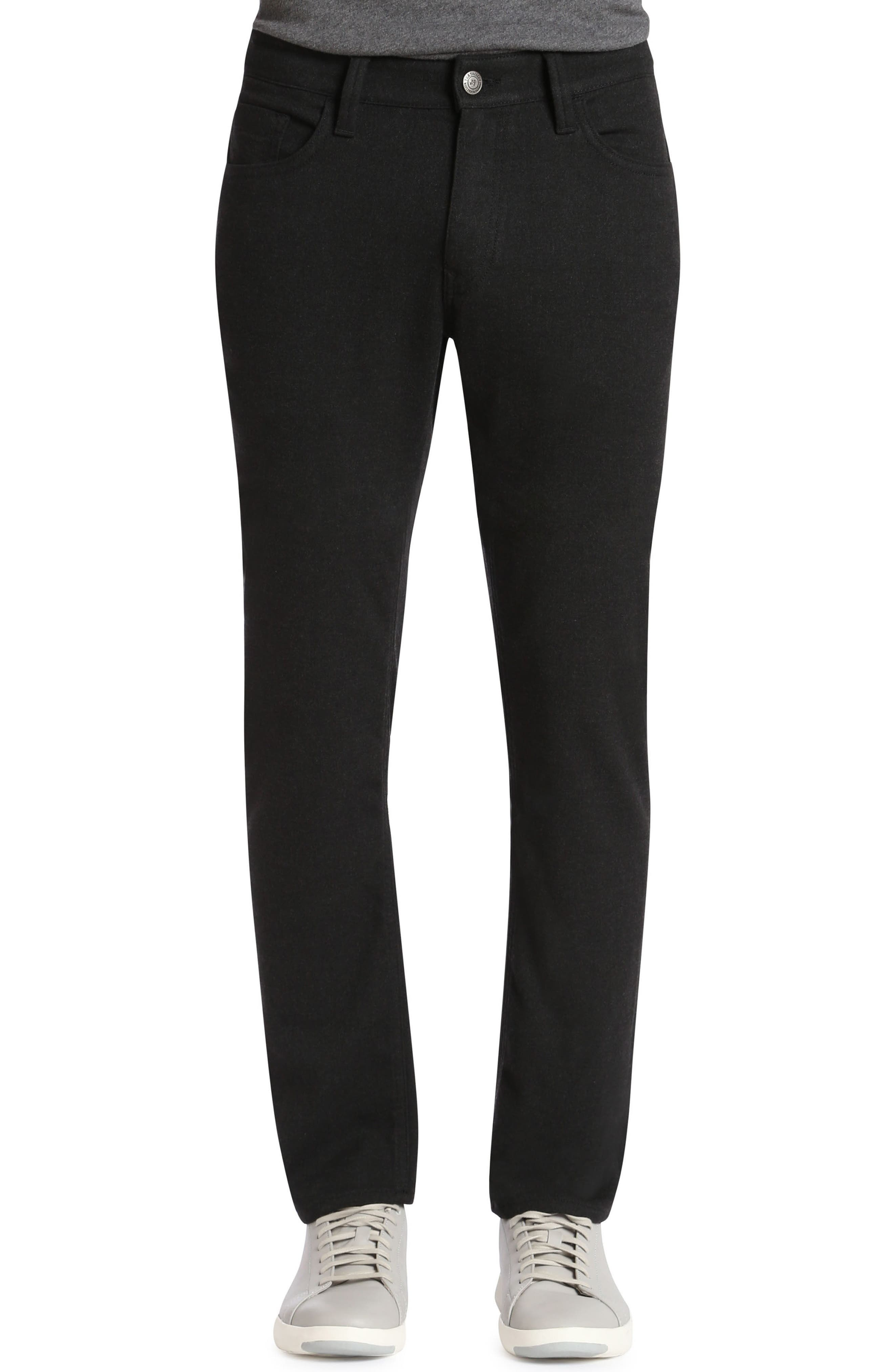 Mavi Jeans Marcus Slim Straight Fit Jeans (Charcoal Feather Tweed)