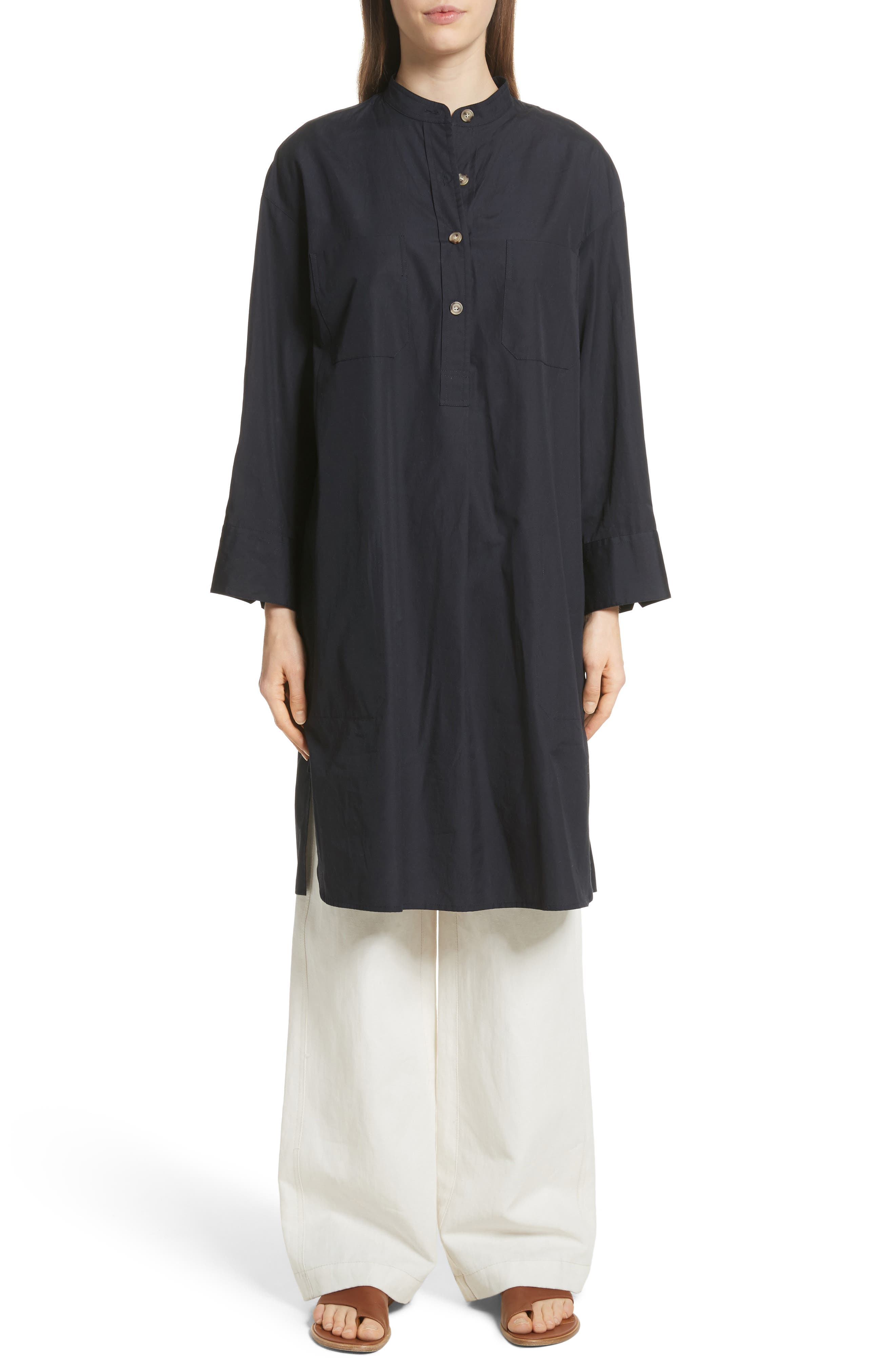 Utility Shirtdress,                         Main,                         color, Coastal