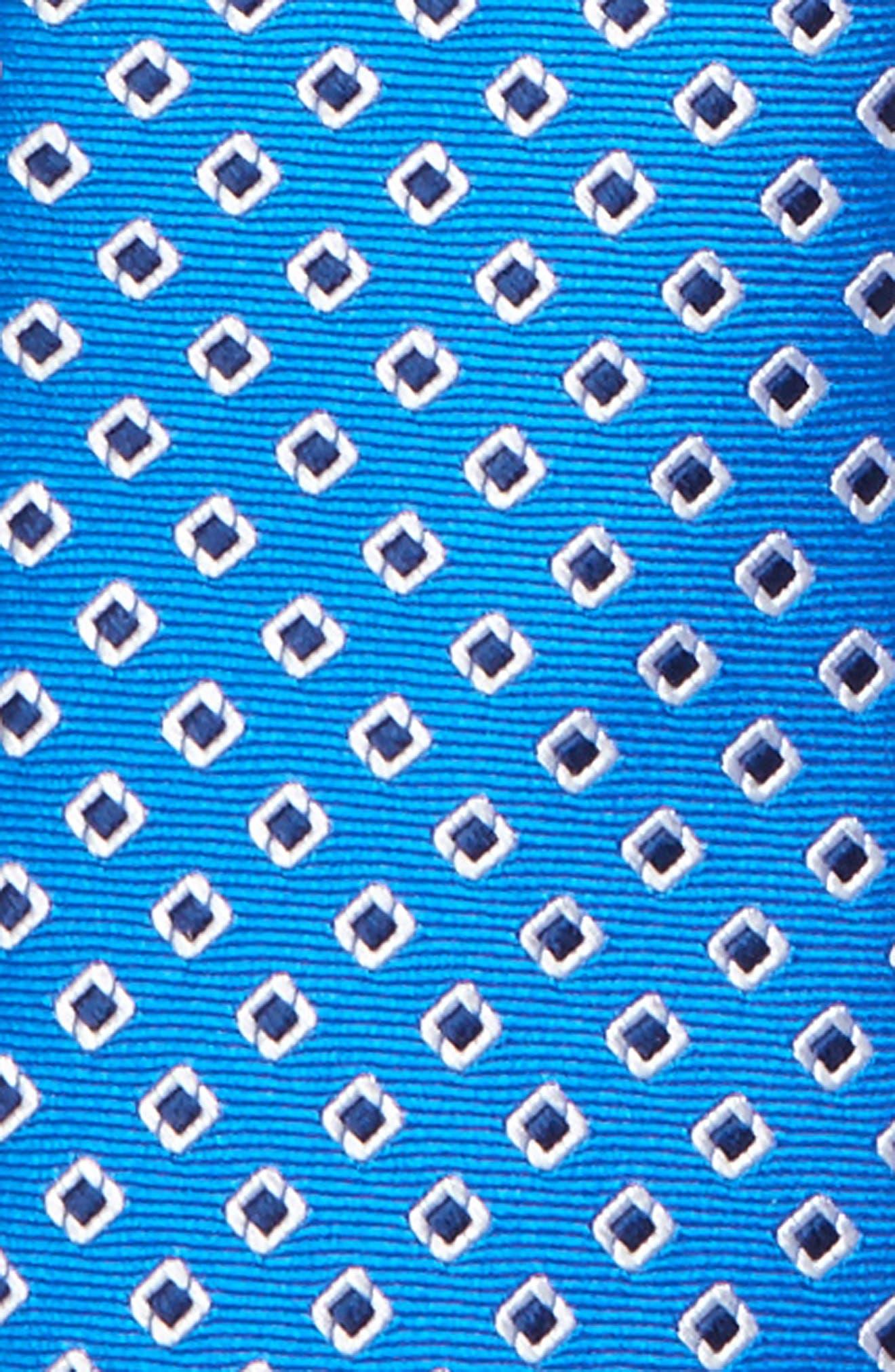 Alternate Image 2  - Nordstrom Medallion Silk Zip Tie (Little Boys)