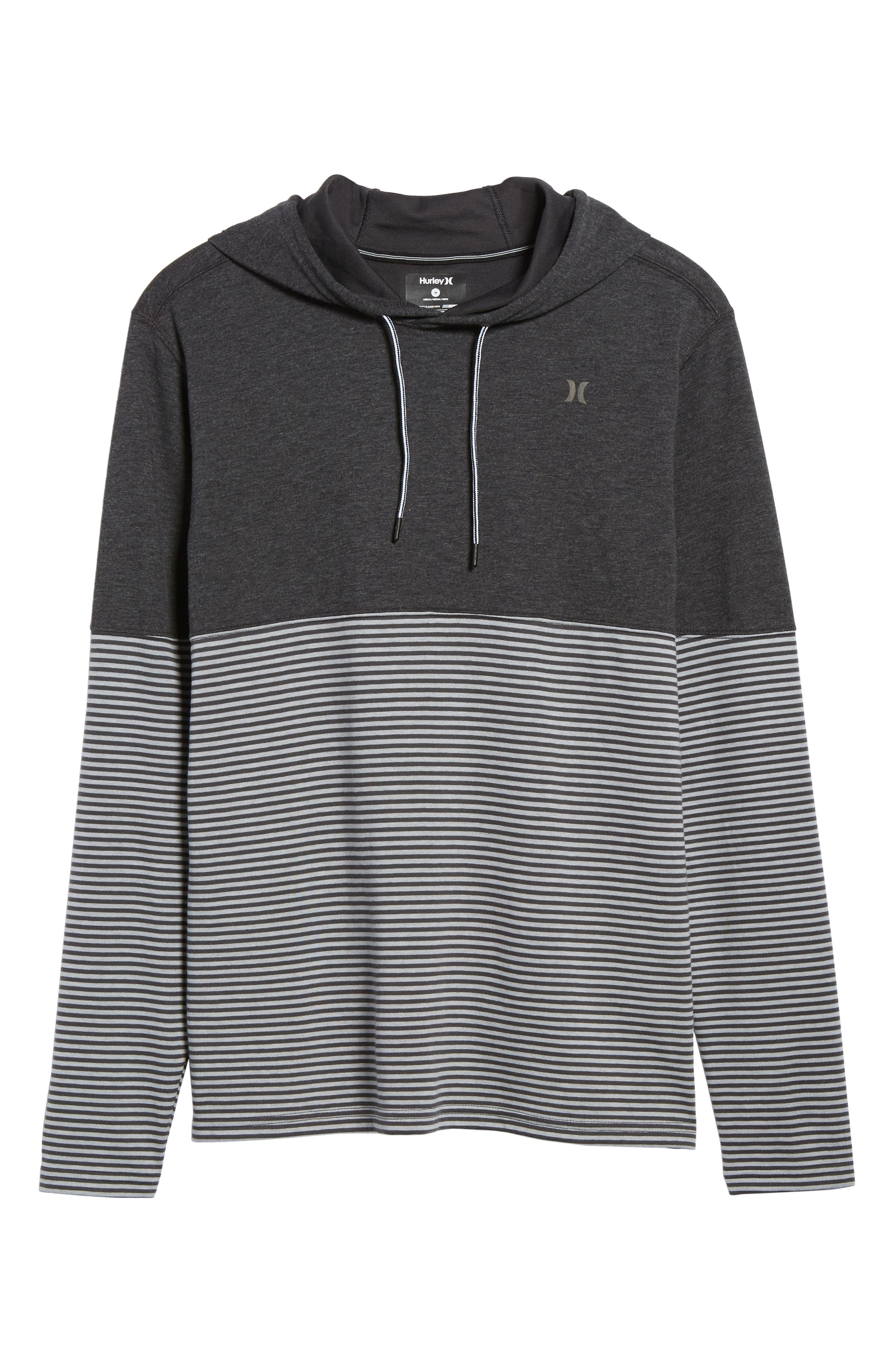 Recess Dry Hoodie,                         Main,                         color, Black Heather