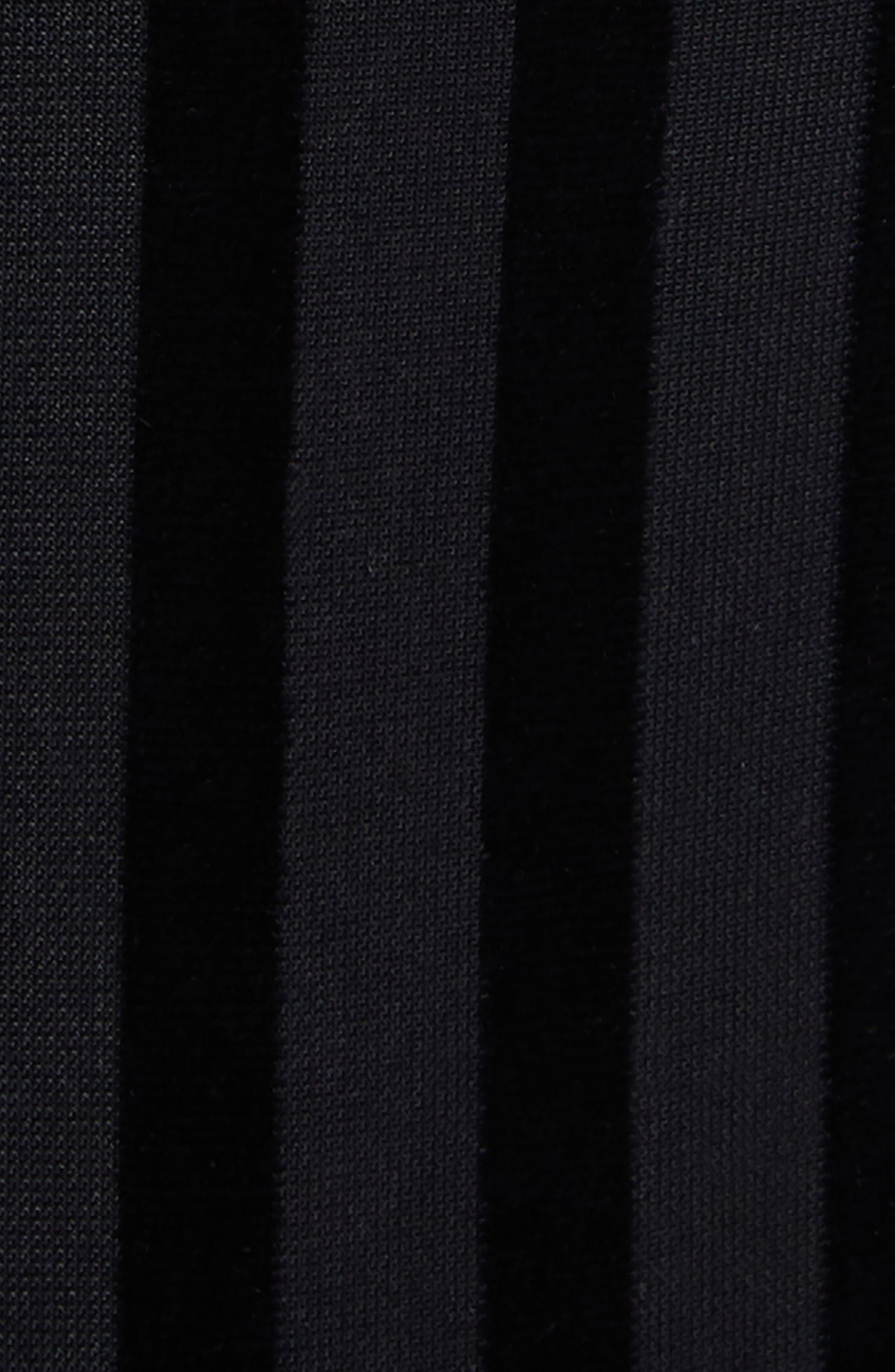 Como Cutout Thong Bodysuit,                             Alternate thumbnail 5, color,                             Stripe Velvet