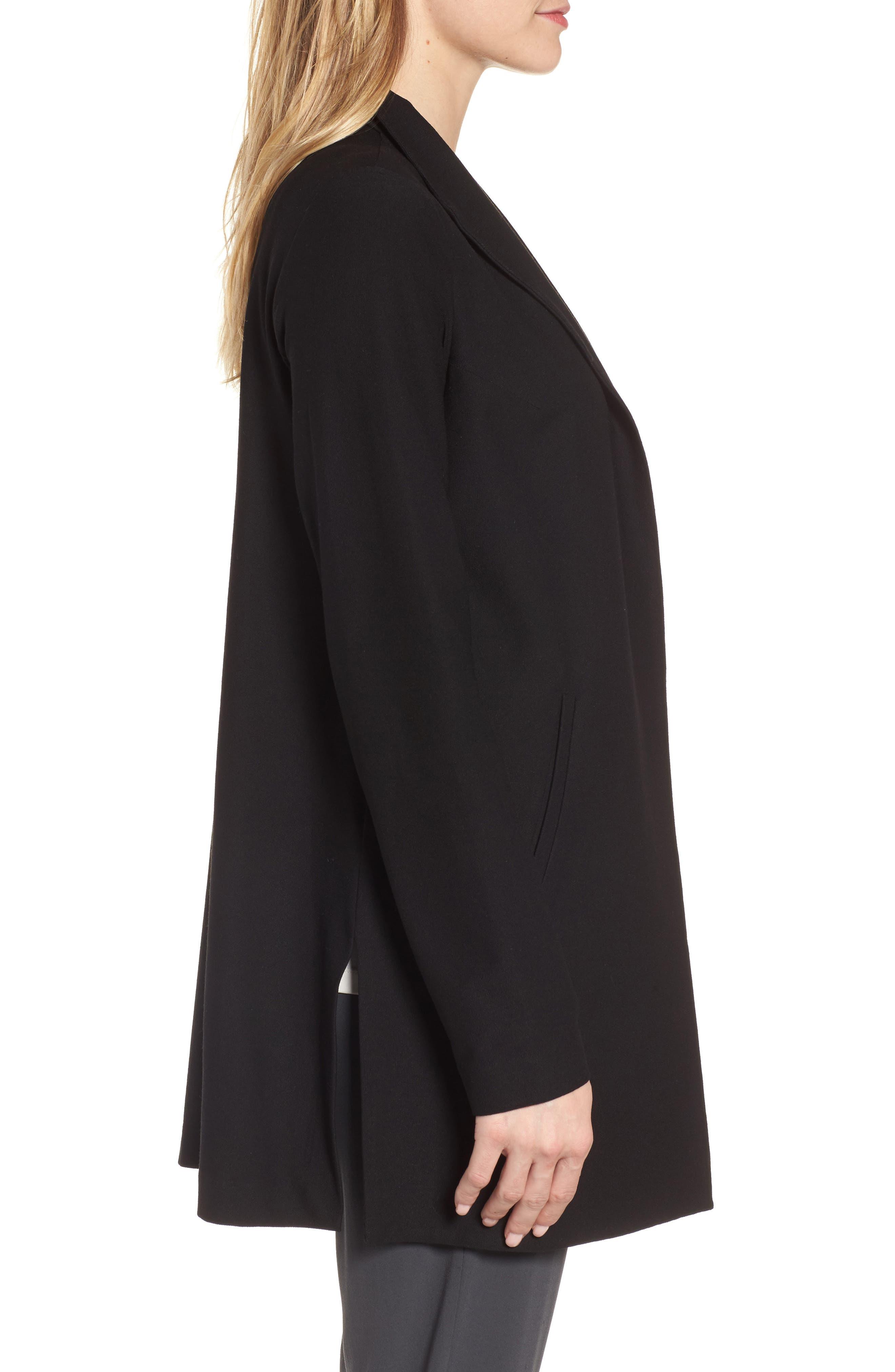 Alternate Image 3  - Eileen Fisher Long Knit Jacket