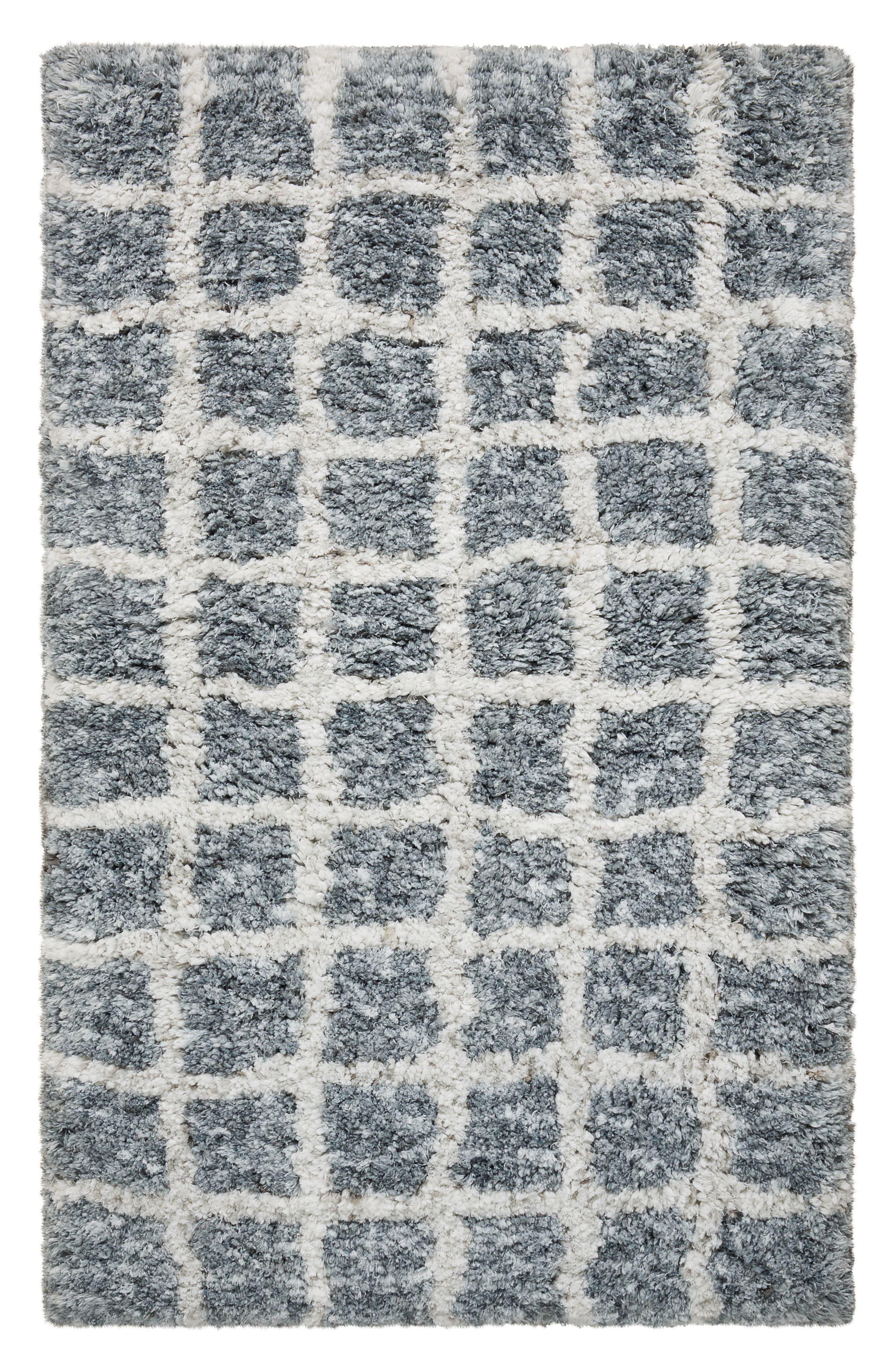 Moroccan Rug,                             Main thumbnail 1, color,                             Grey