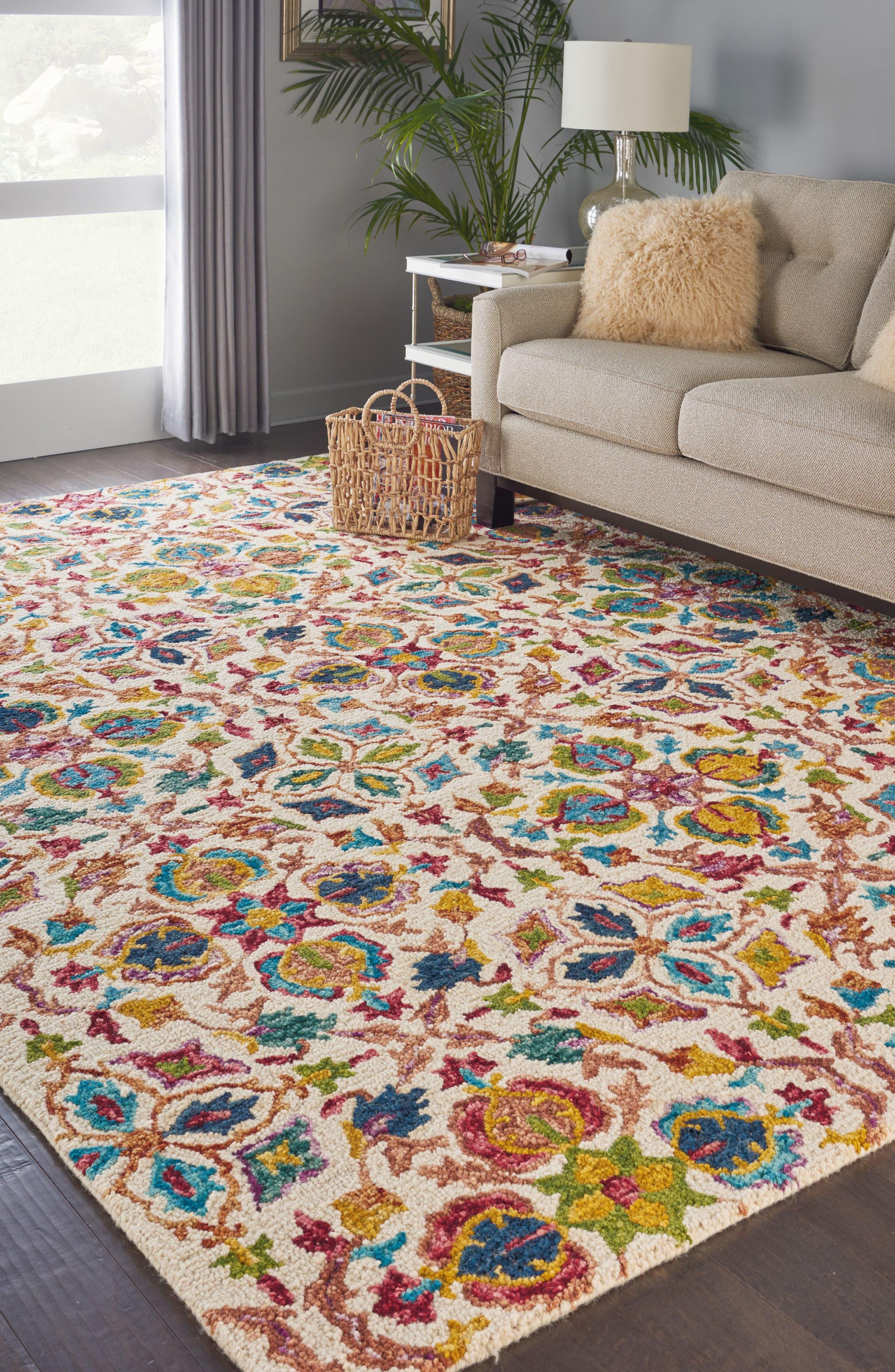 Alternate Image 6  - Nourison Vivid Wool Rug
