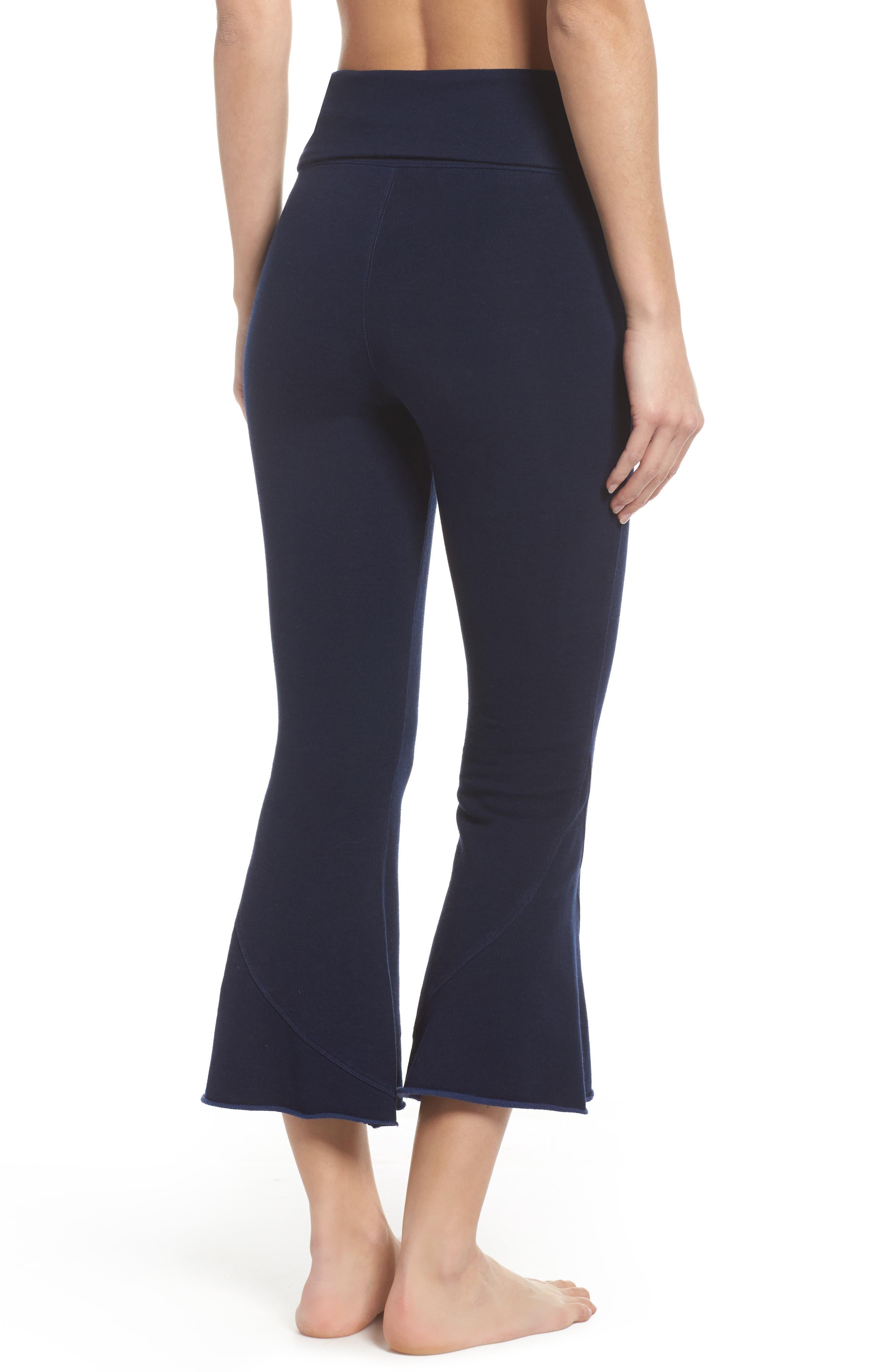Alternate Image 2  - Free People FP Movement Nico Crop Flare Sweatpants