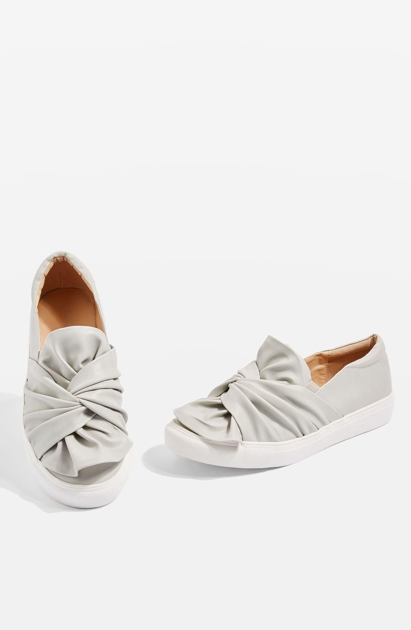 Topshop Twisted Slip-On Sneakers