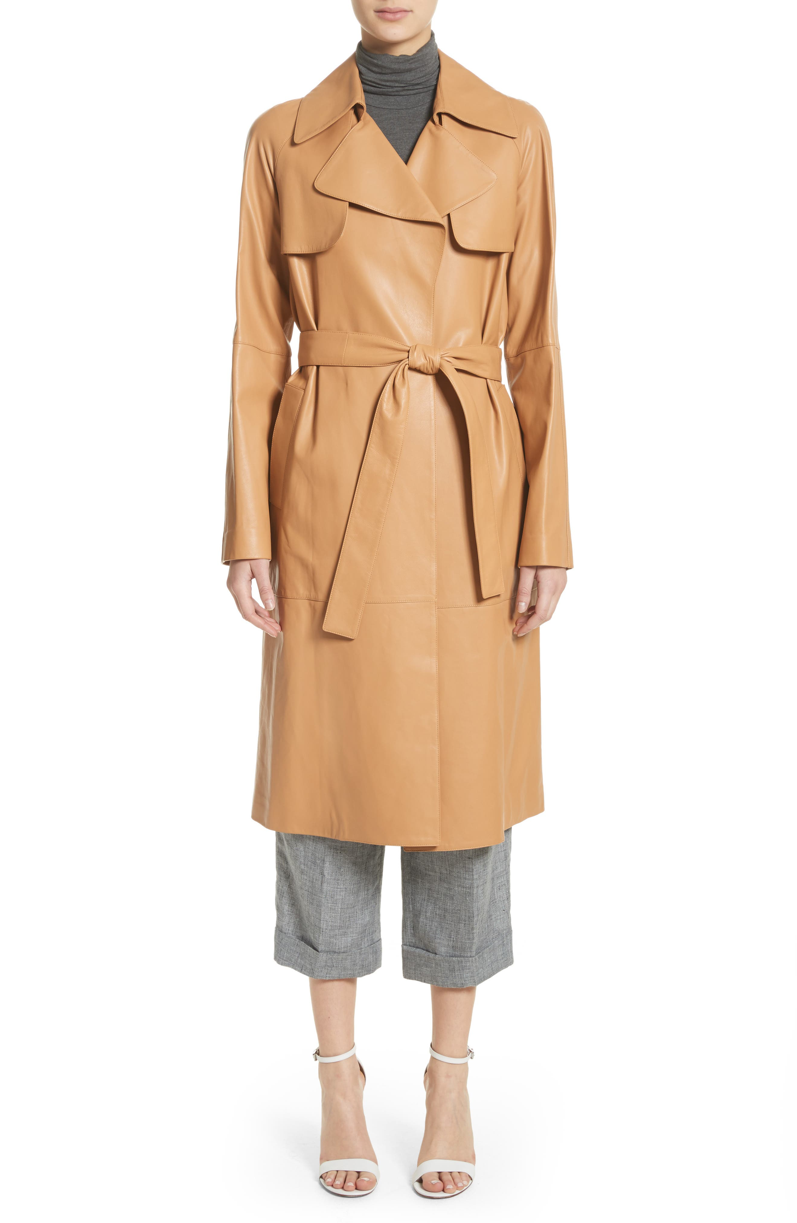Cross Front Linen Crop Trousers,                             Alternate thumbnail 9, color,                             Banker Melange