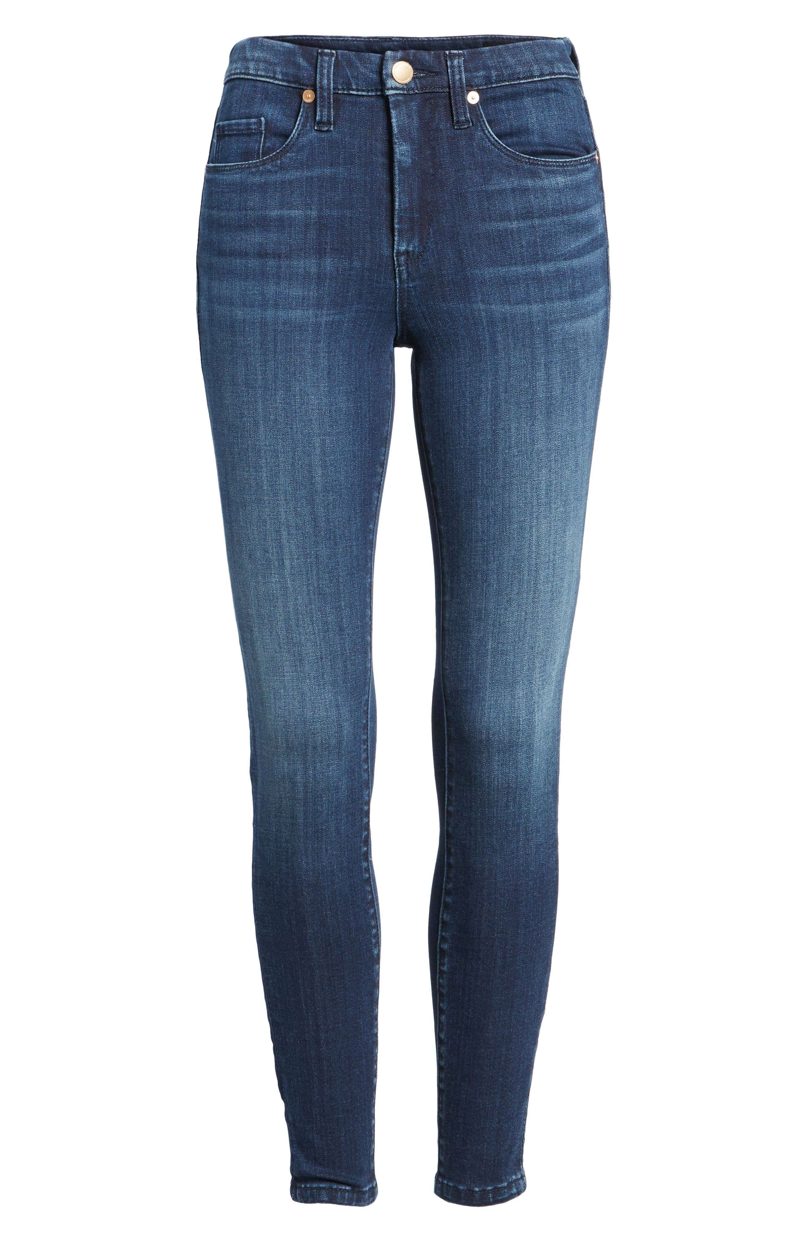 Alternate Image 6  - BLANKNYC The Bond Stretch Skinny Jeans (Let Go)
