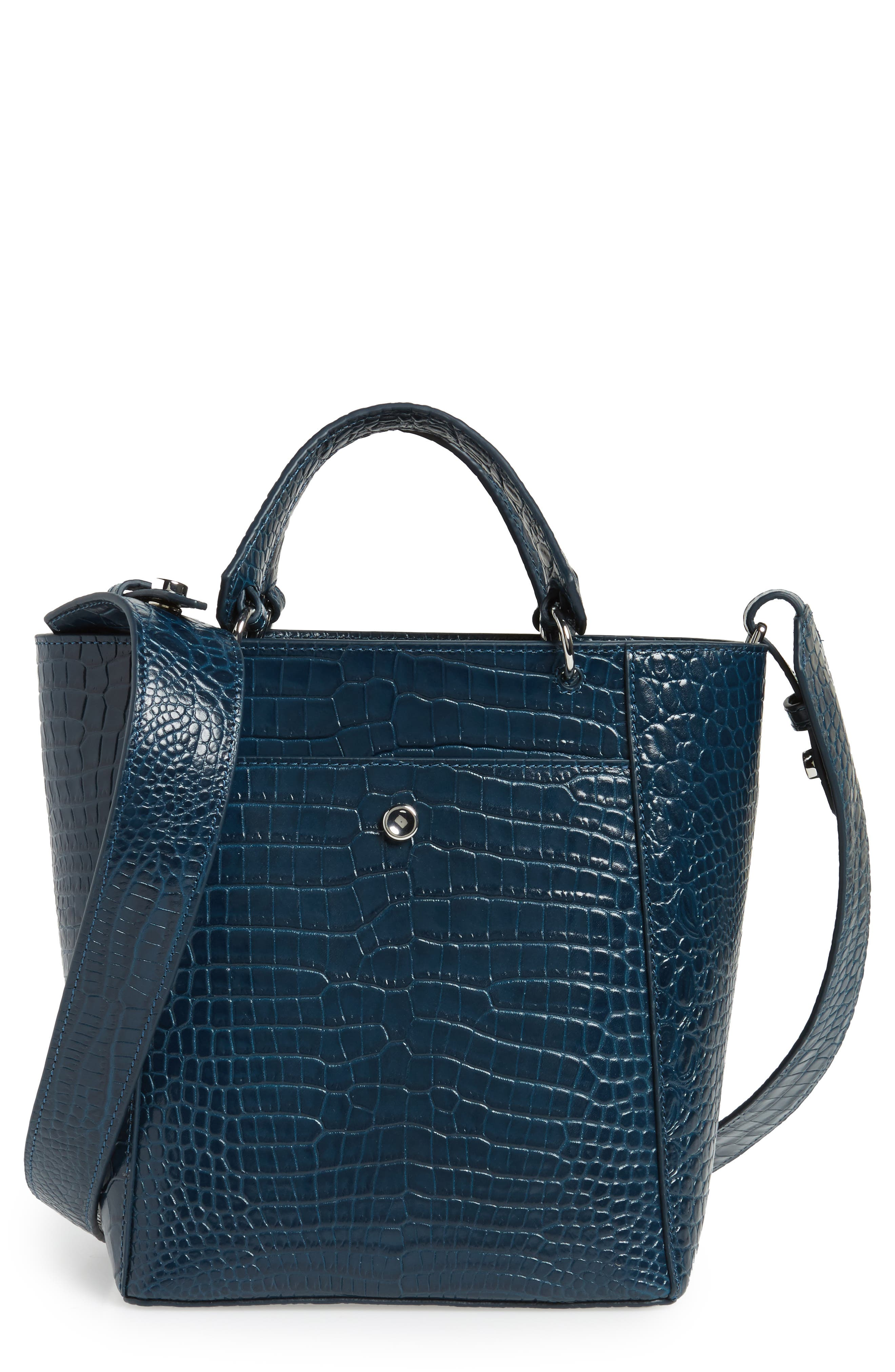 Alternate Image 1 Selected - Elizabeth and James Small Eloise Leather Tote