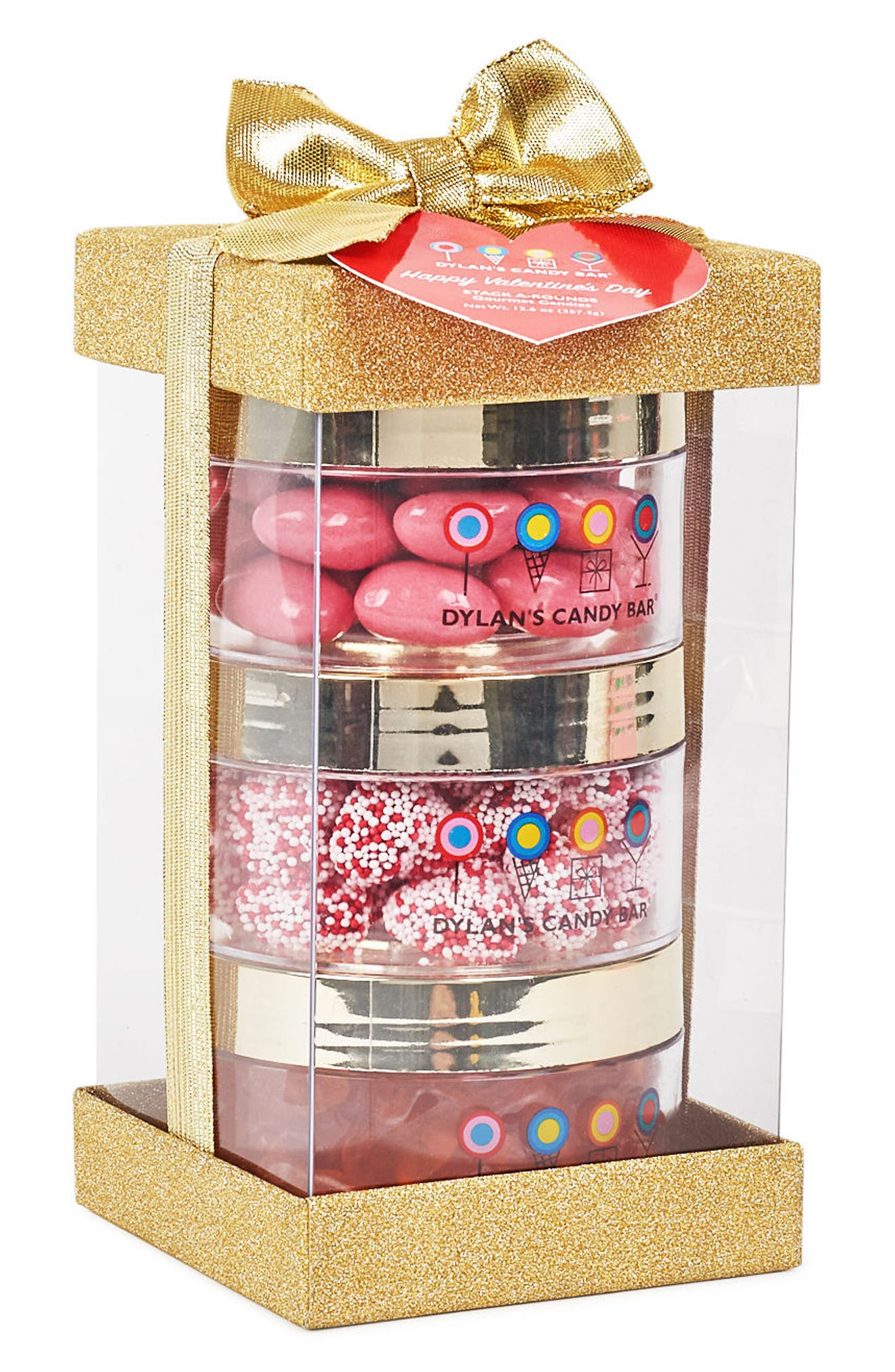 Stack-A-Round 3-Pack Valentine's Day Gift Set,                             Alternate thumbnail 2, color,                             Gold
