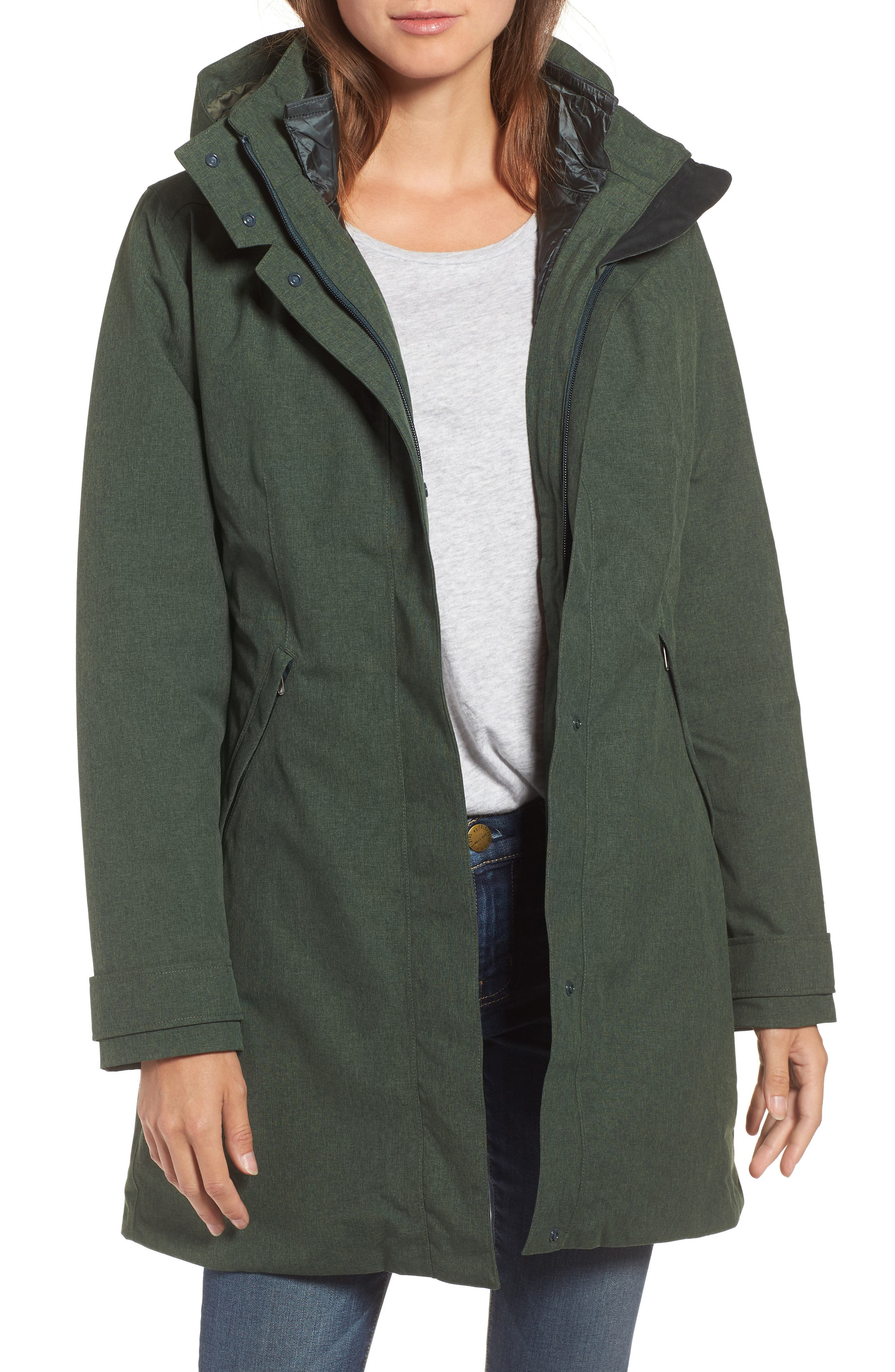 Patagonia 'Vosque' 3-in-1 Parka (Online Only)