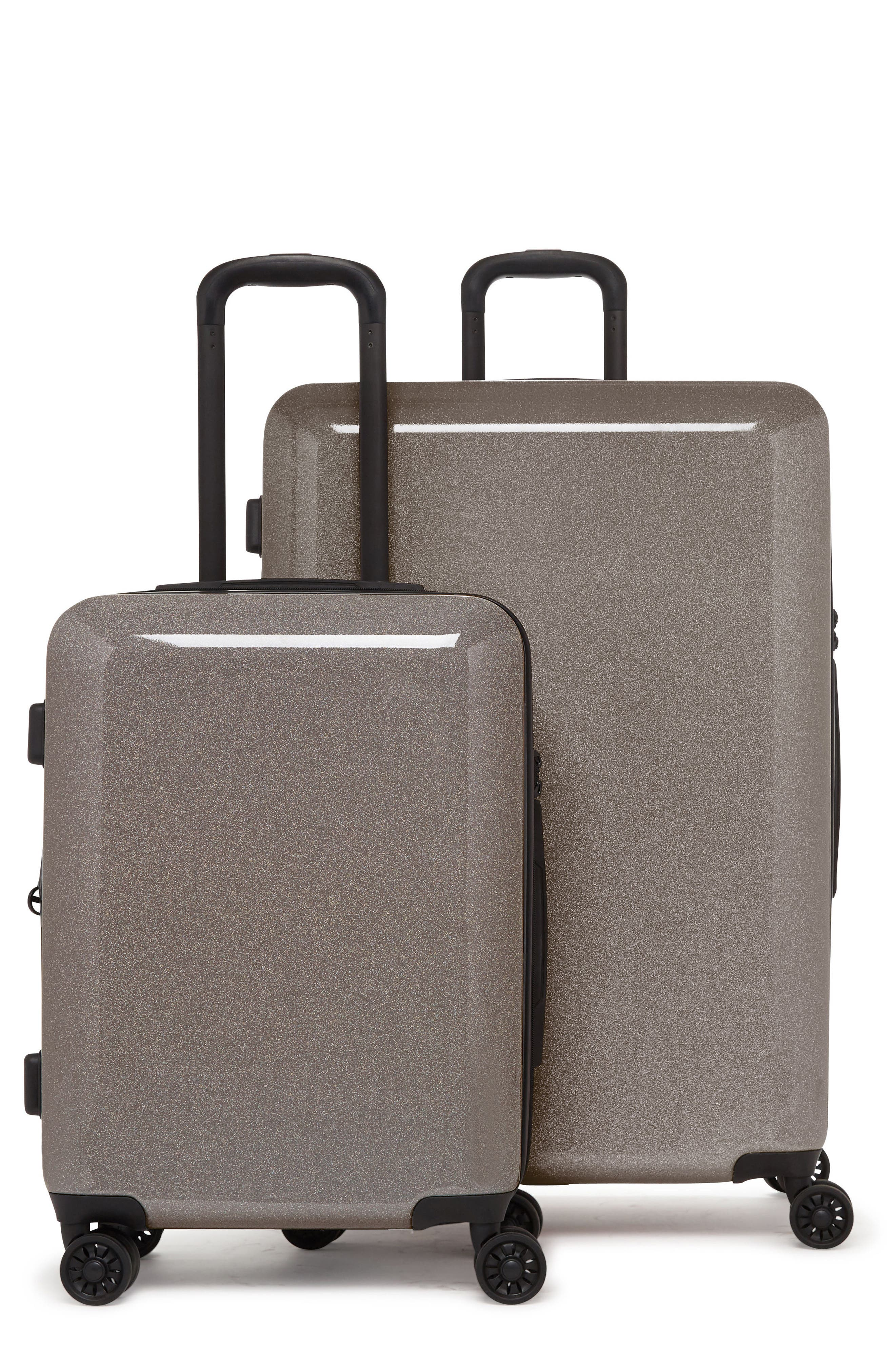 Main Image - CALPAK Medora Glitter 28-Inch & 20-Inch Hardshell Spinner Suitcase & Carry-On Set
