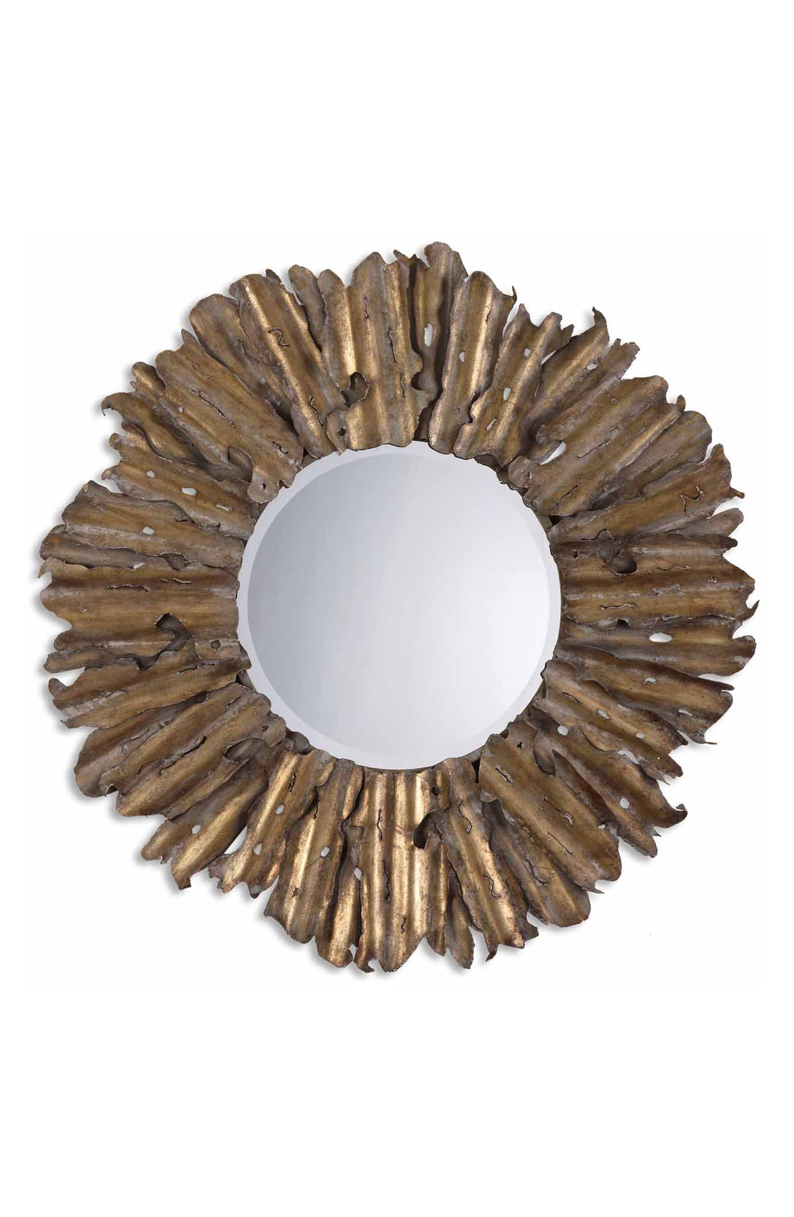 Hemani Wall Mirror,                         Main,                         color, Brown