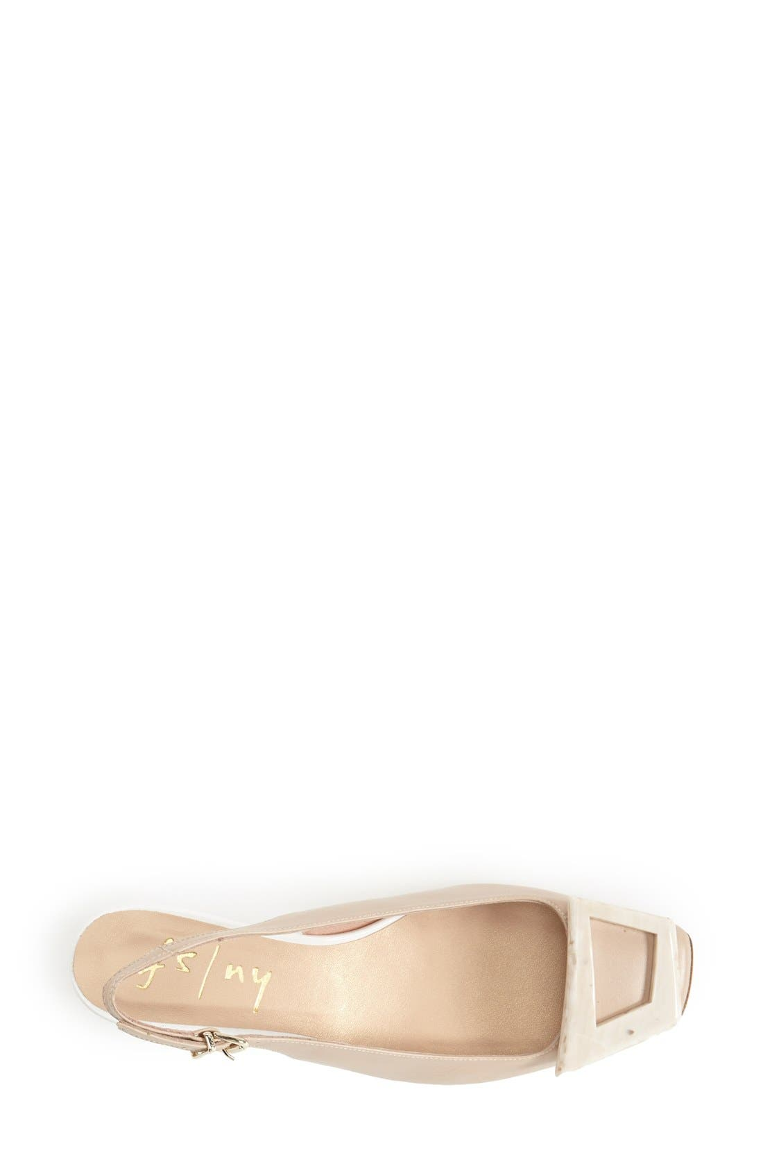 Alternate Image 3  - French Sole 'Noter' Slingback Wedge Pump (Women)