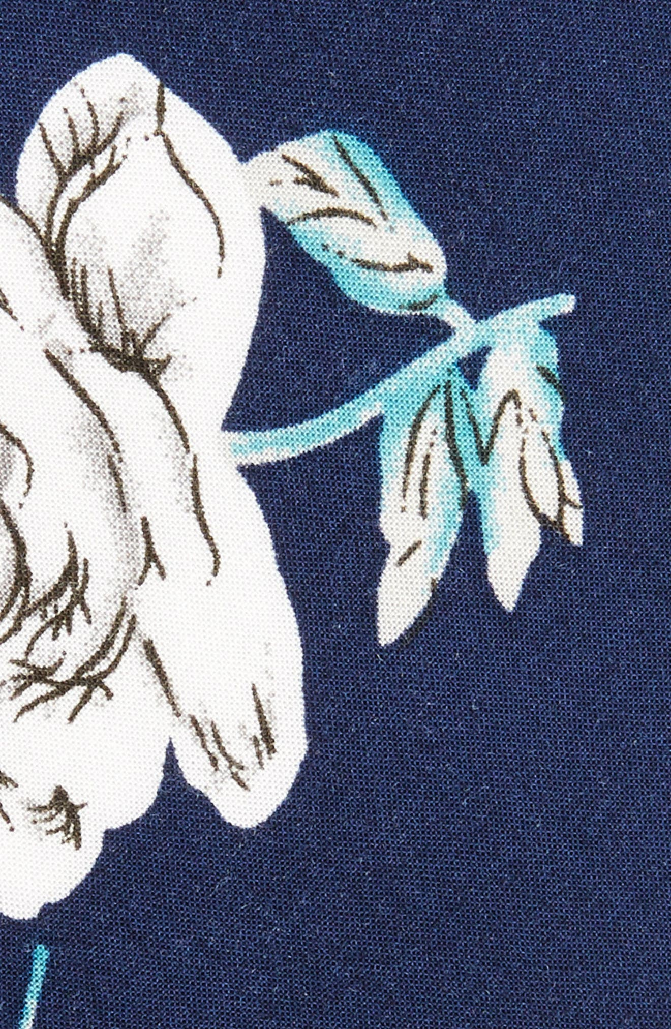 Alternate Image 2  - 1901 Cherbury Floral Cotton Tie